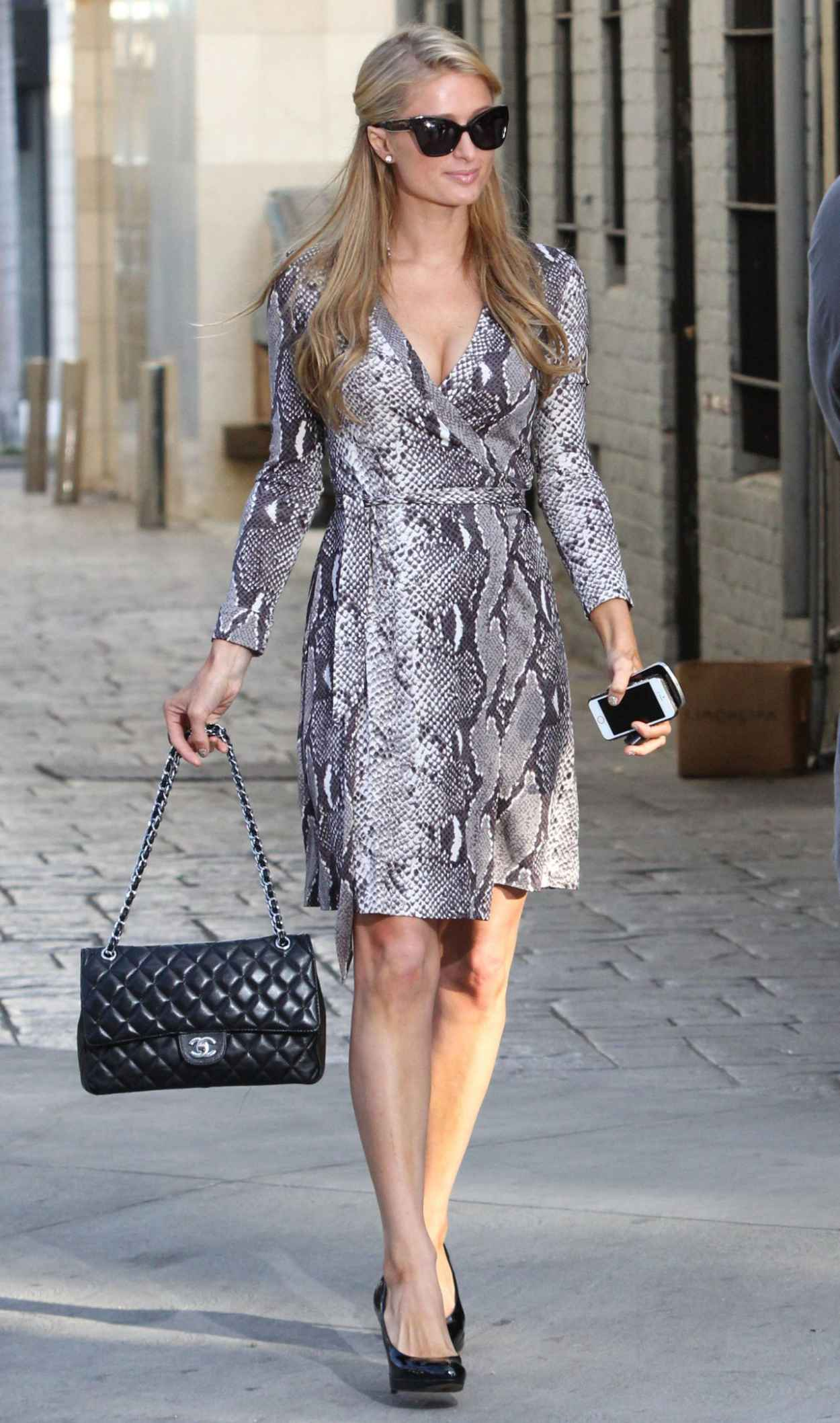 Paris Hilton Street Style - Out in Beverly Hills, Jan. 2015-1