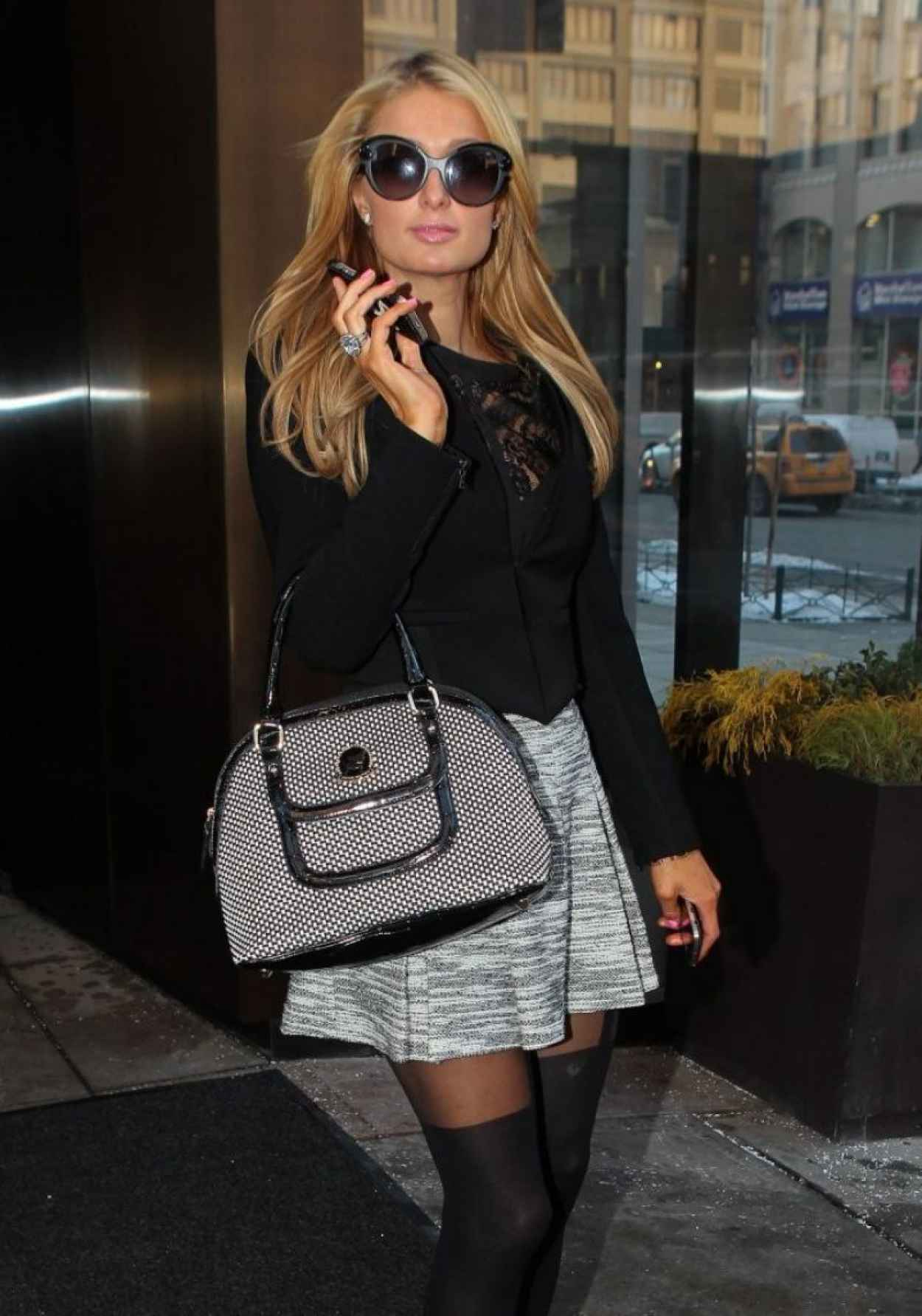 Paris Hilton Style - Out in New York City, February 2015-1
