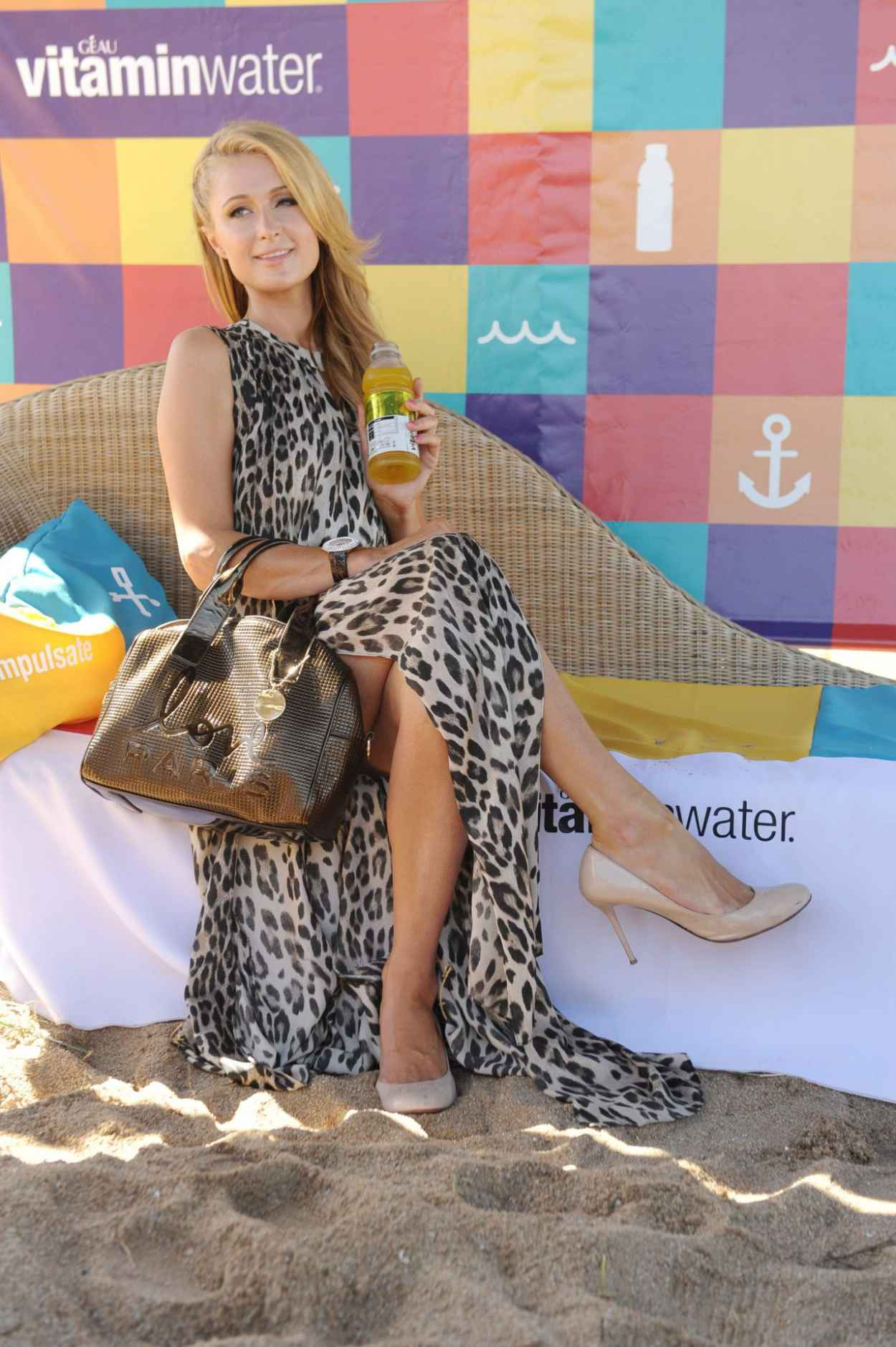 Paris Hilton Visits Uruguayan Beach Resort Punta del Este - January 2015-1