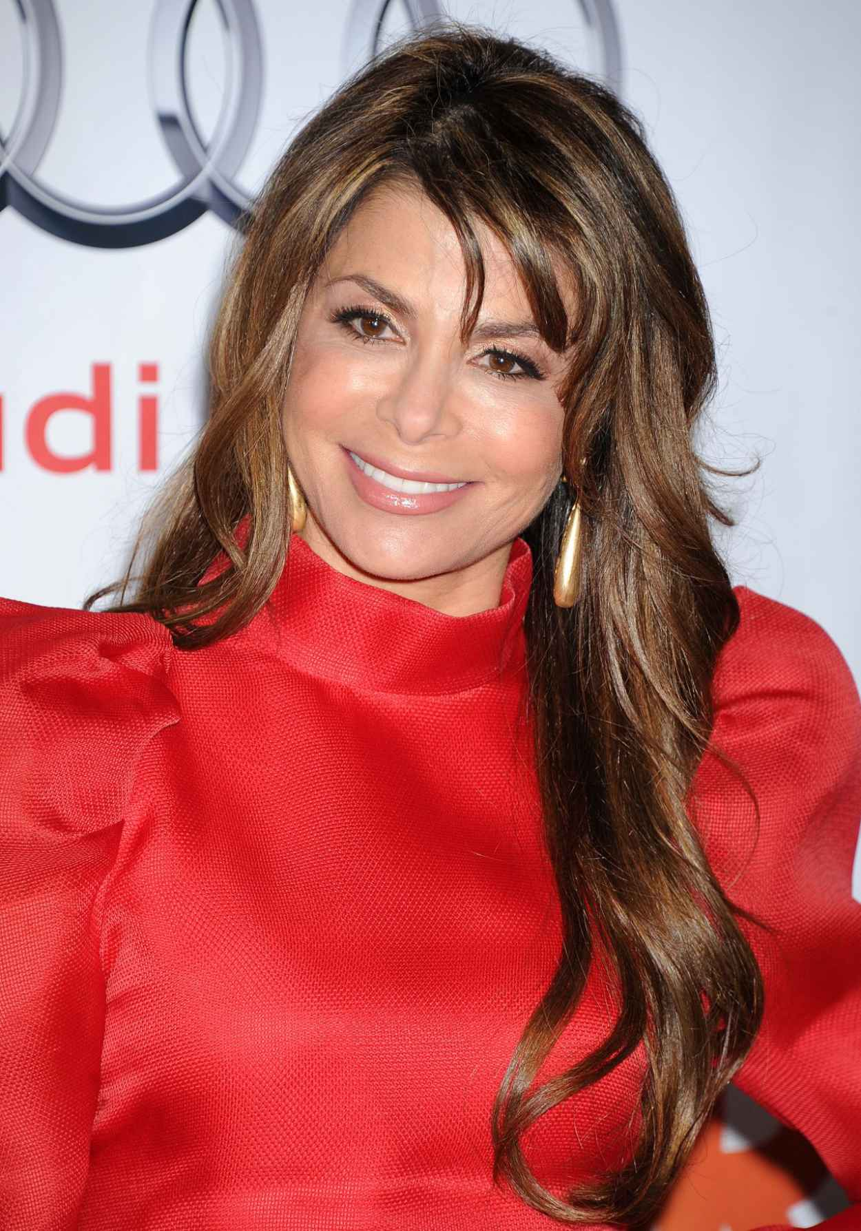 Paula Abdul in Red on Red Carpet - Trevor Projects 2015 TrevorLIVE LA Event - Hollywood-1