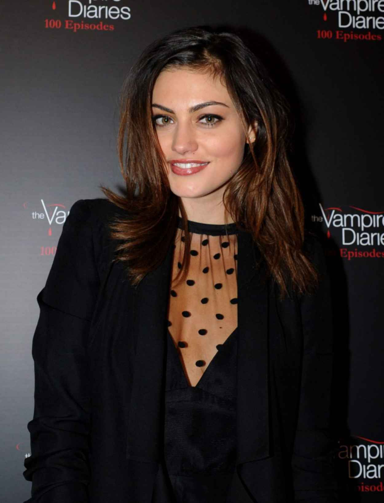 Phoebe Tonkin Attends The Vampire Diaries 100th Episode Celebration-1