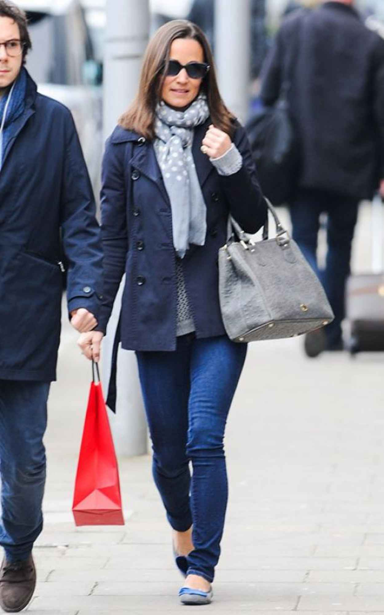 Pippa Middleton Street Style – out in London – March 2015 ...