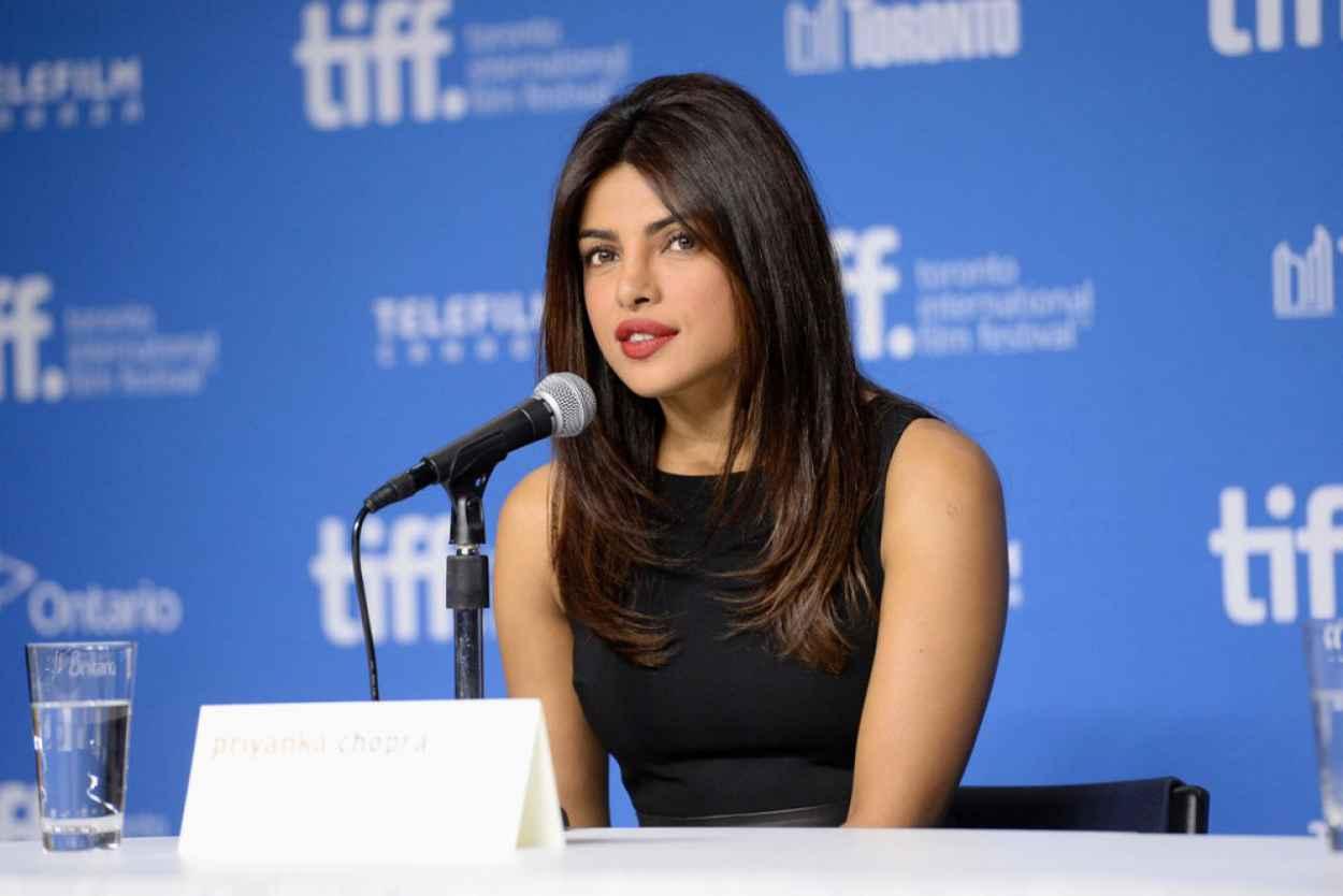 Priyanka Chopra - Mary Kom Press Conference - 2015 Toronto Film Festival-1