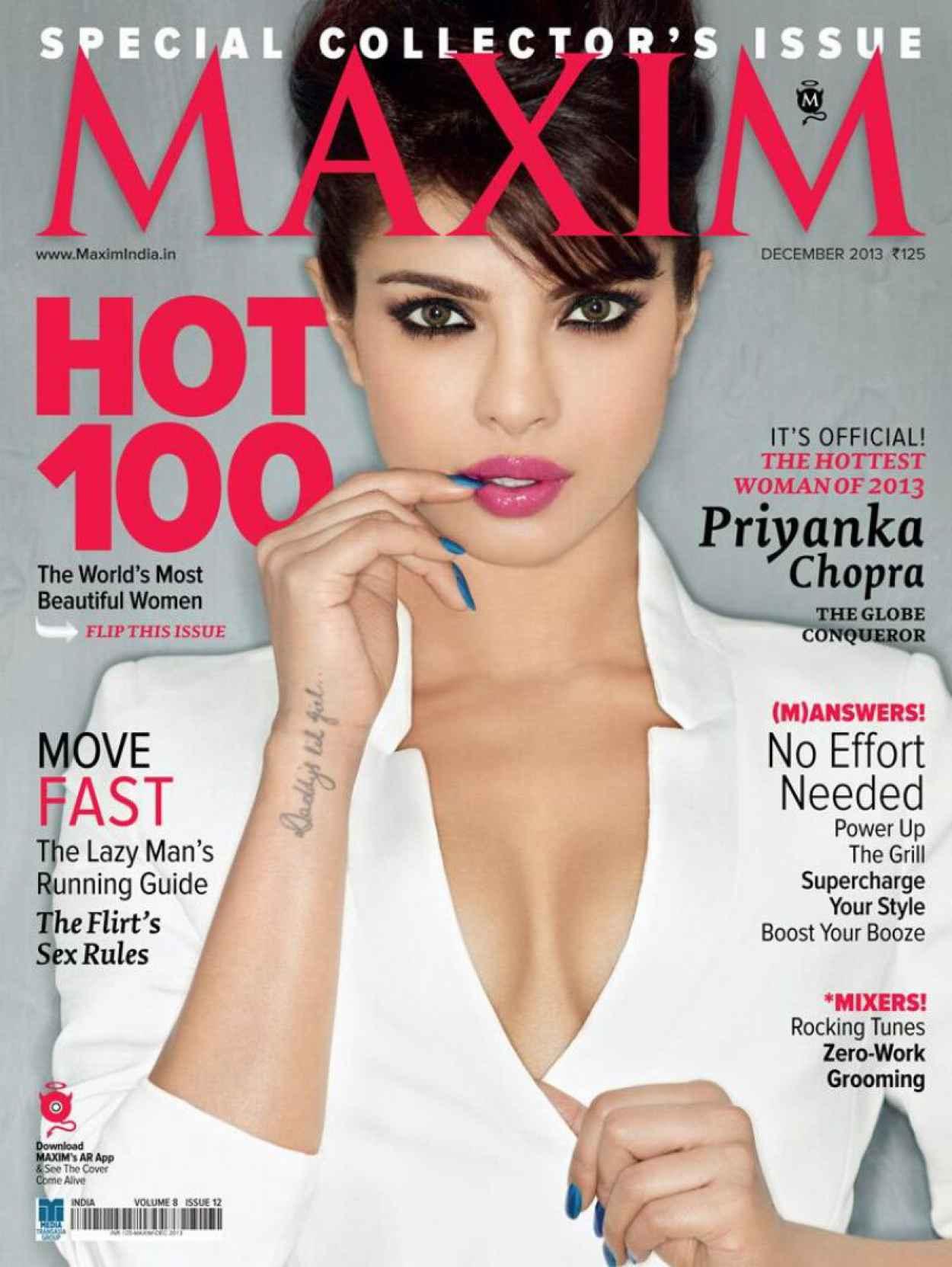 Priyanka Chopra - MAXIM Magazine (India) - December 2015 Issue-1