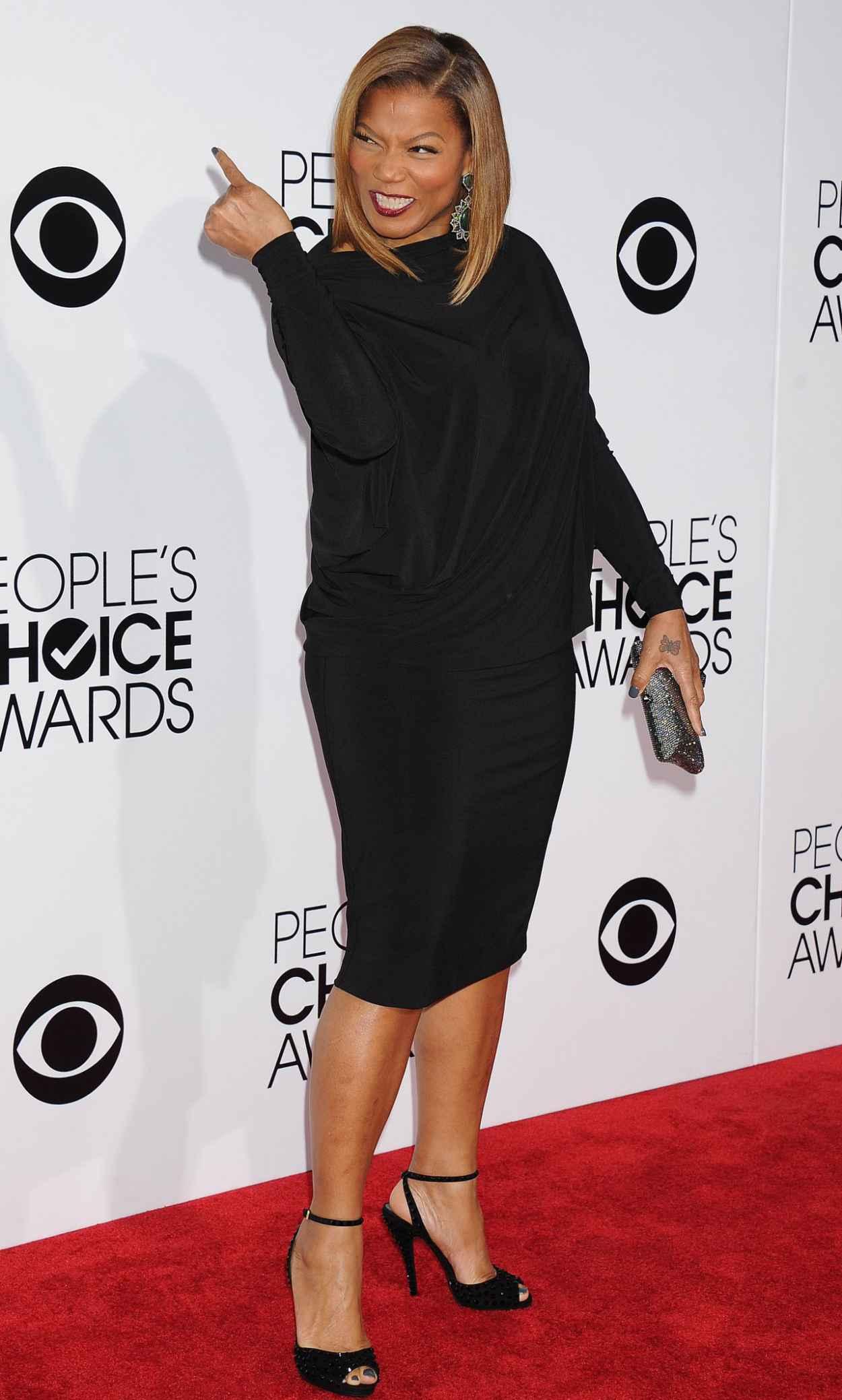Queen Latifah - 2015 Peoples Choice Awards-1