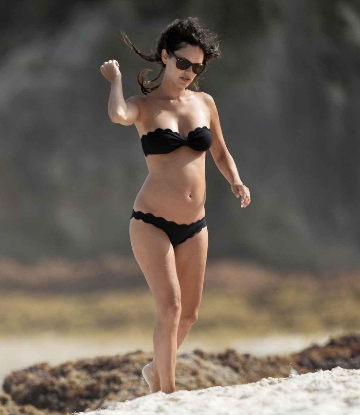 Rachel Bilson Bikini Candids - Beach in Barbados - June 2015-5
