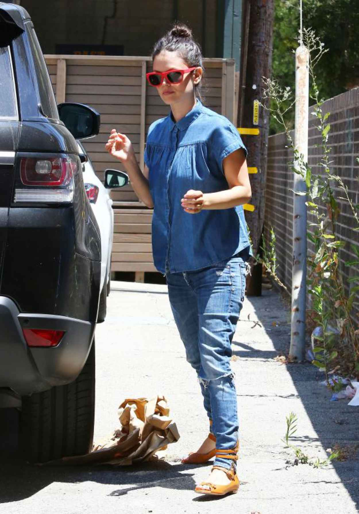 Rachel Bilson - Byron Williams Salon in Beverly Hills, July 2015-1