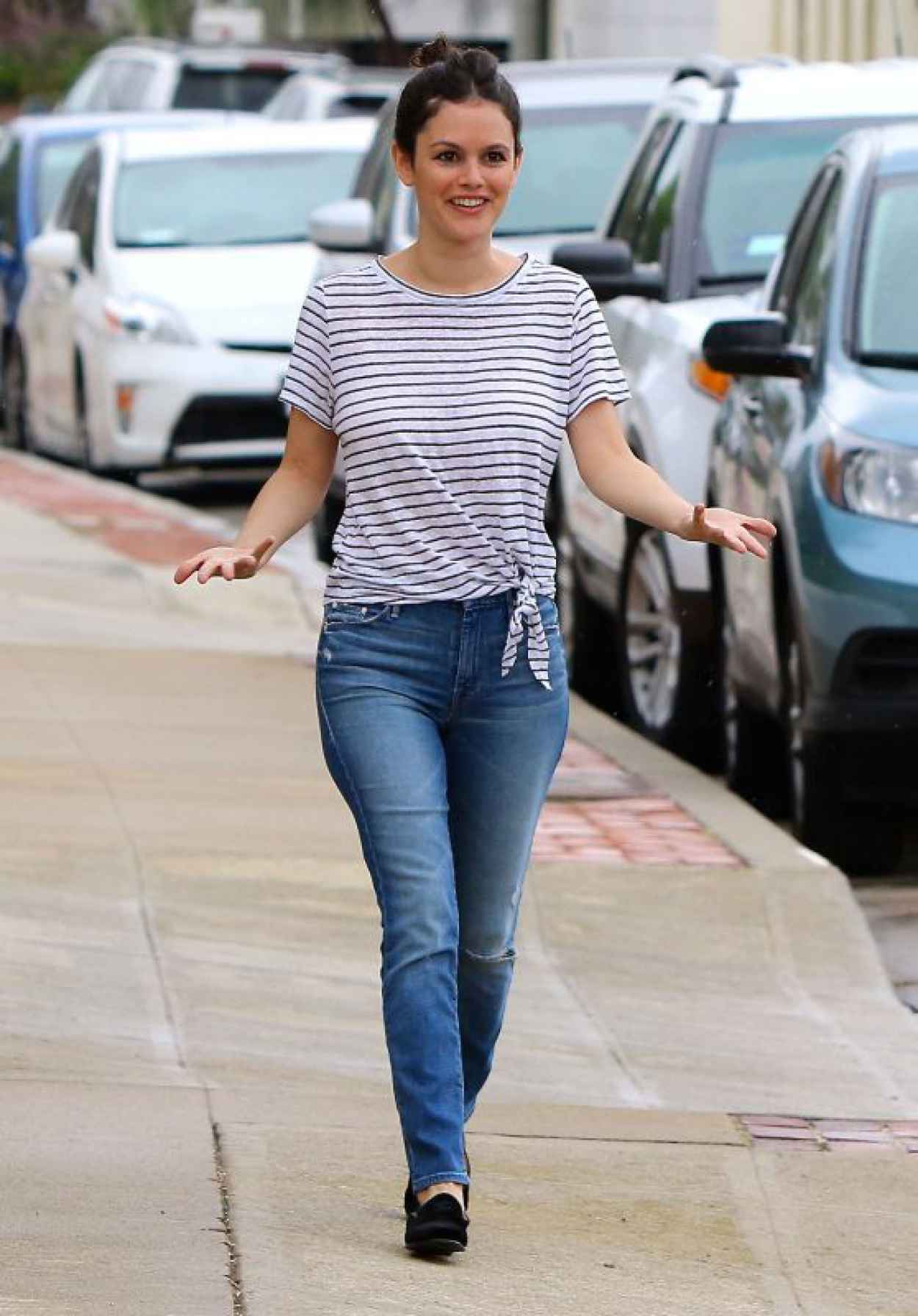 Rachel Bilson Street Style - Out and About in Studio City, July 2015-1