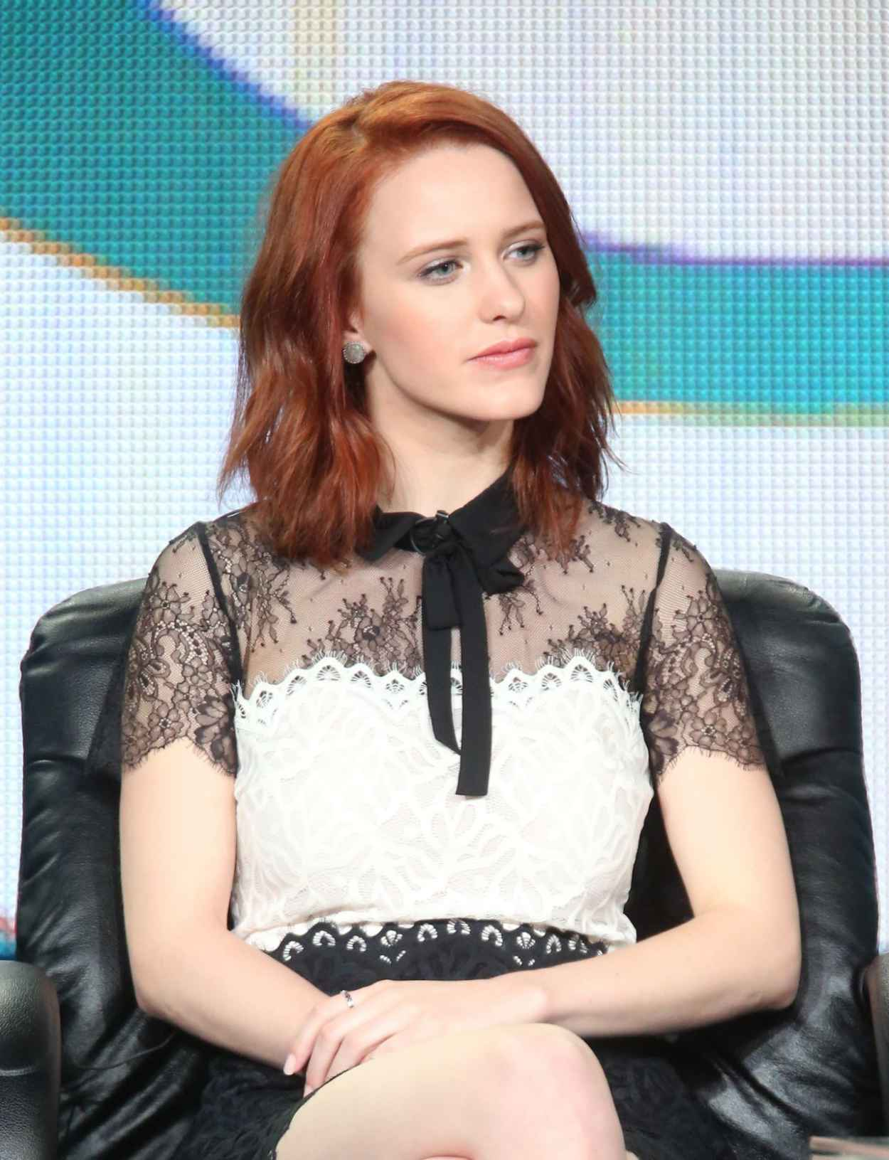 Rachel Brosnahan - The Dovekeepers Panel TCA Press Tour in Pasadena-1