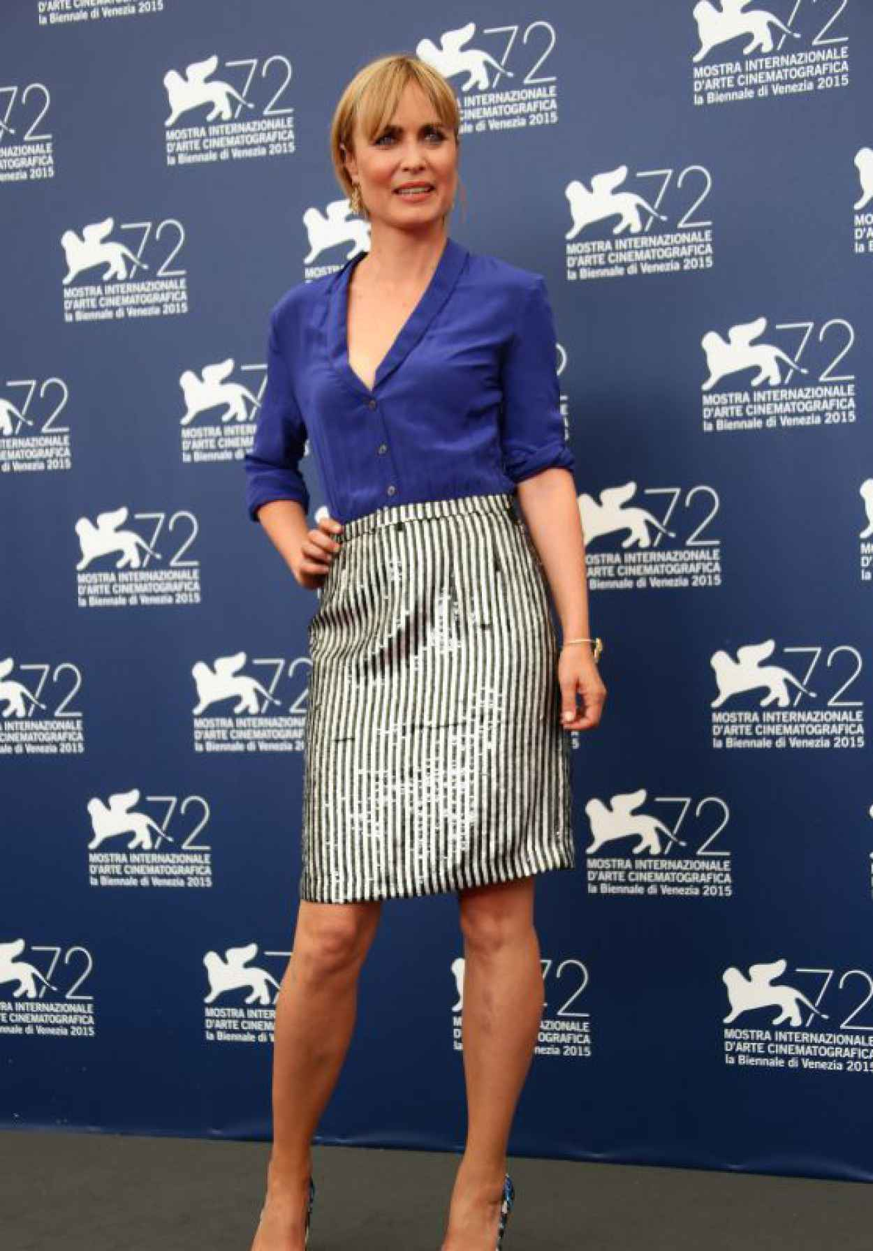 Radha Mitchell - Looking For Grace Photocall - 72nd Venice Film Festival-1