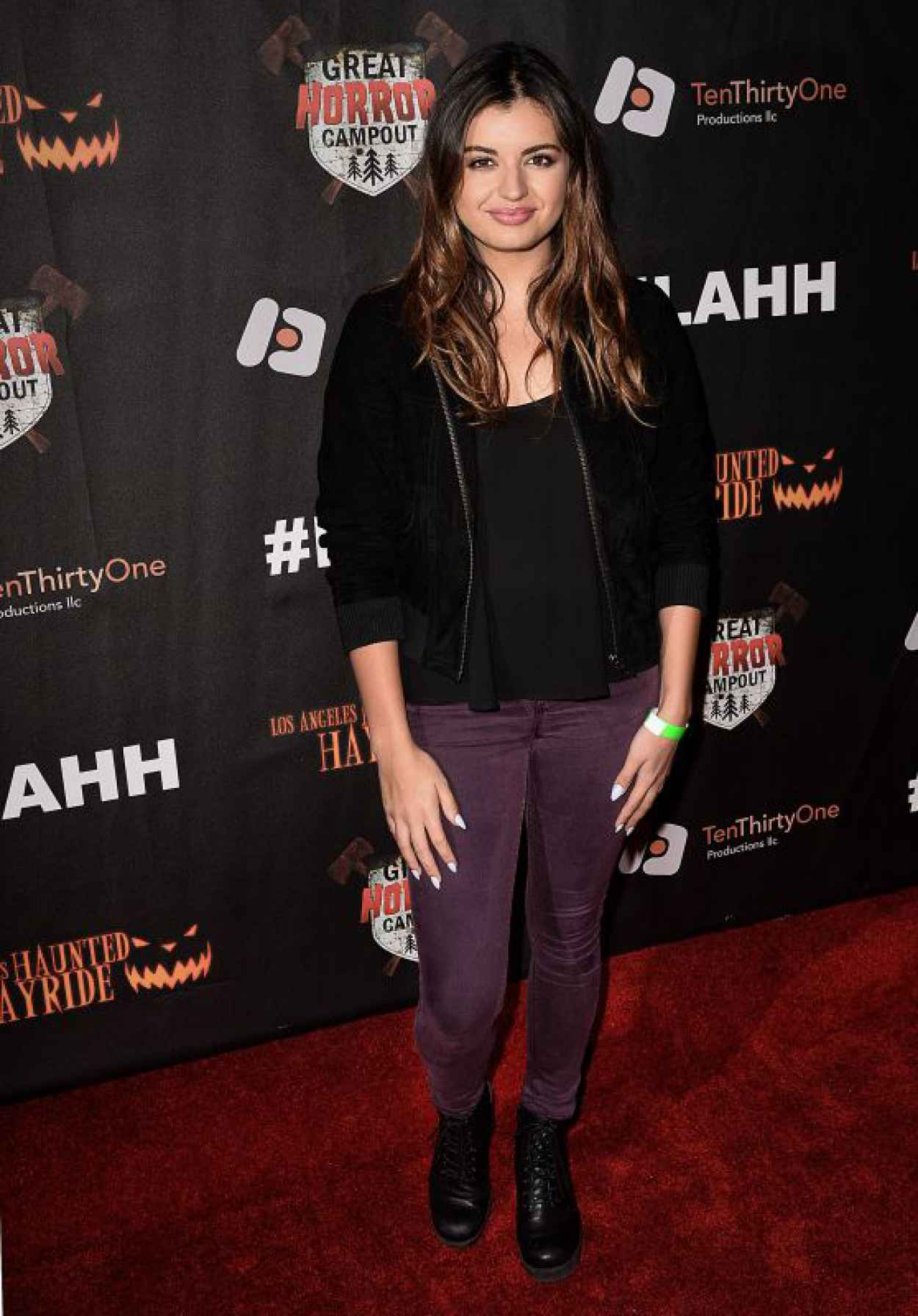 Rebecca Black - Griffith Park Haunted Hayride Opening Night in LA-1