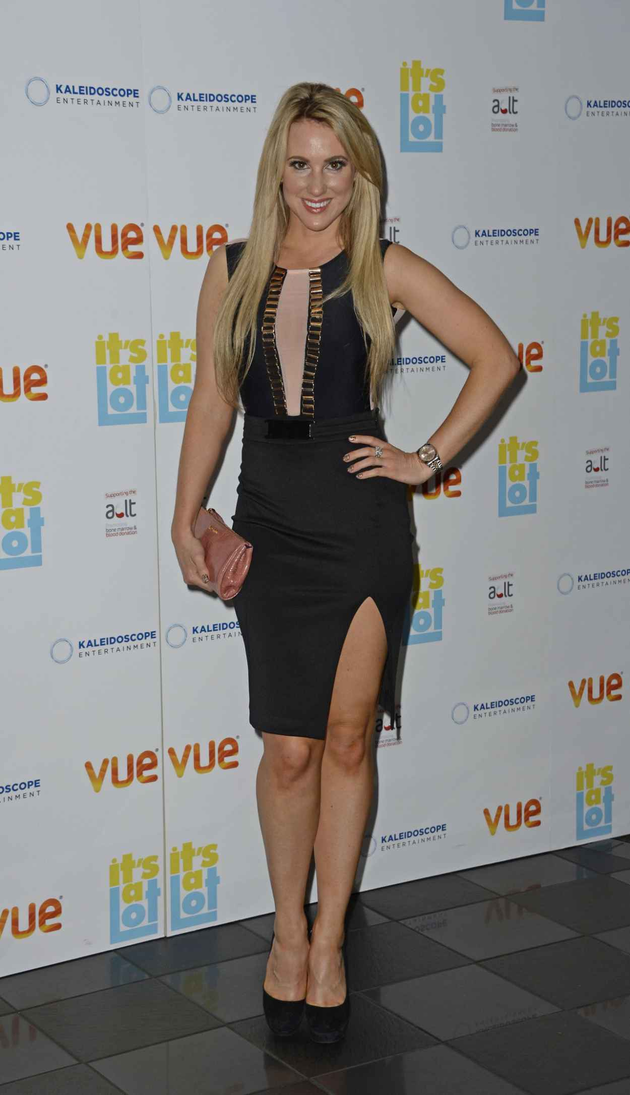 Rebecca Ferdinando at Premiere of Its A Lot at Vue West End in London-1