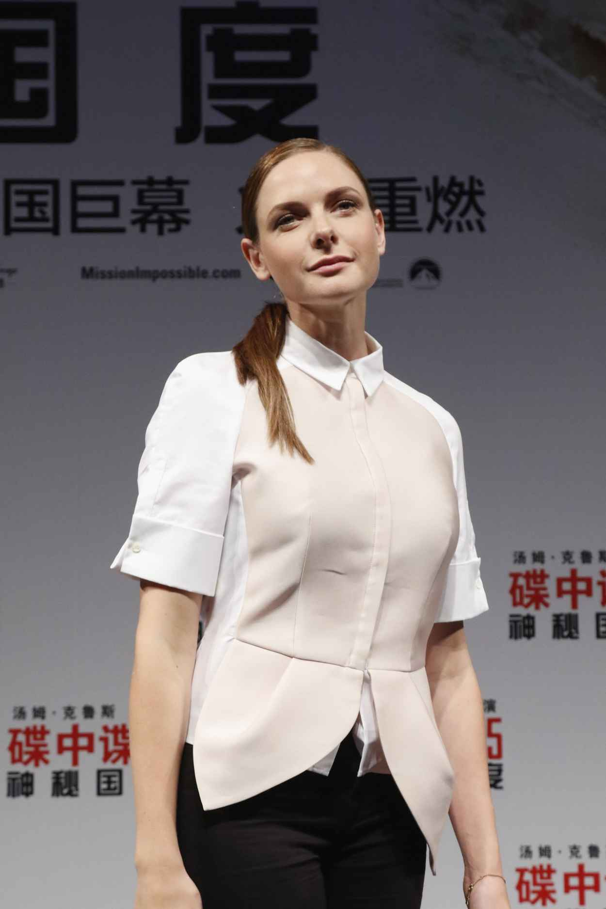 Rebecca Ferguson – Mission: Impossible – Rogue Nation ...