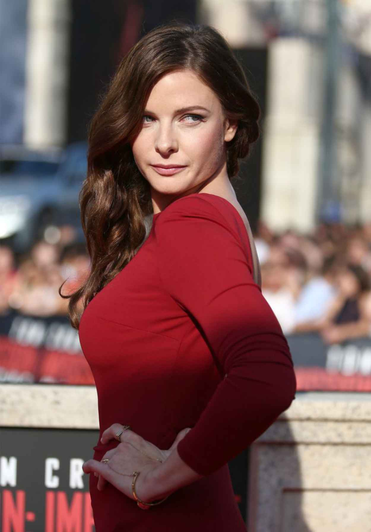Rebecca Ferguson Mission: Impossible Rogue Nation World ...