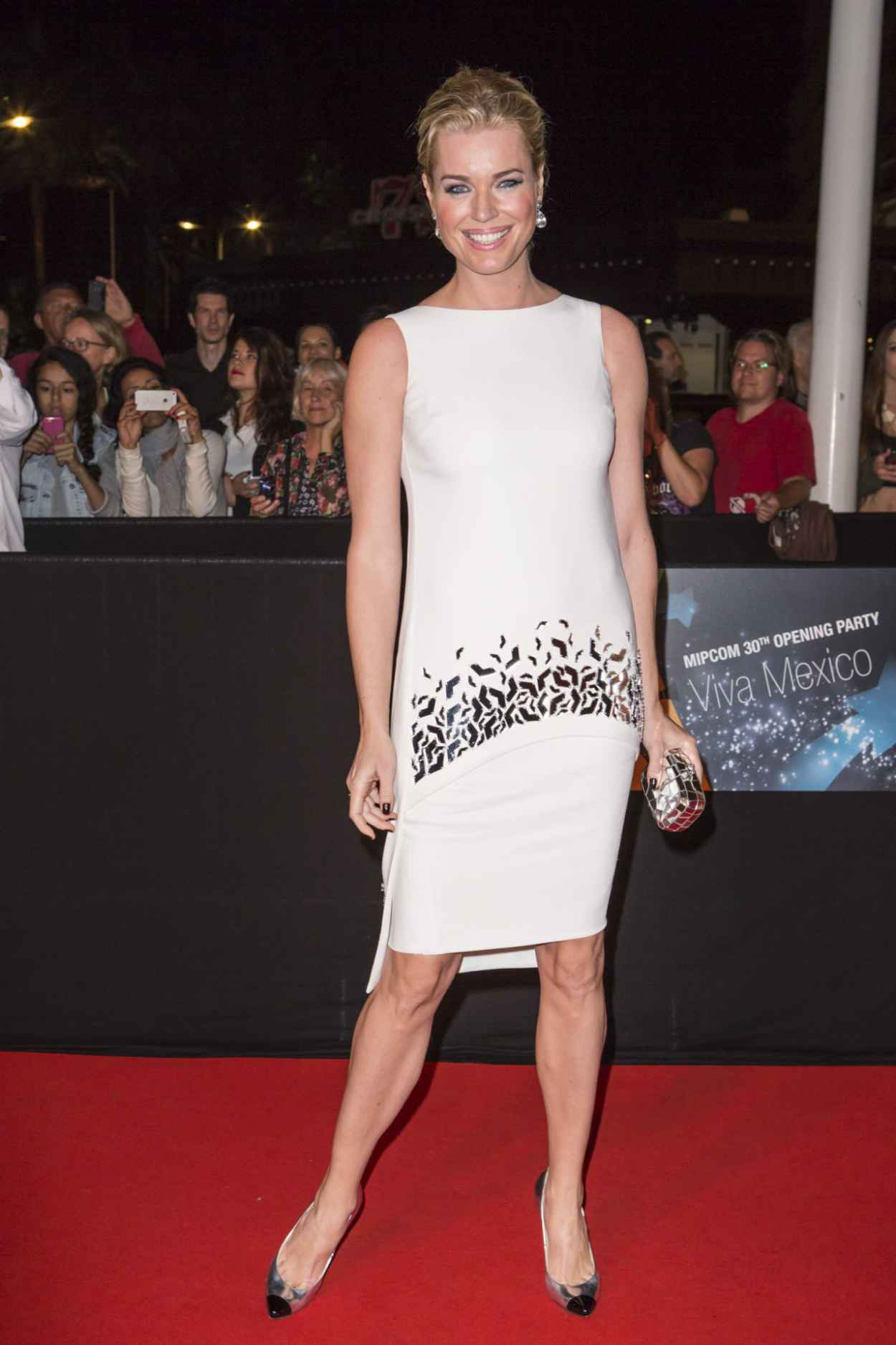 Rebecca Romijn - MIPCOM 2015 Opening Party at the Hotel Martinez in Cannes, France-1