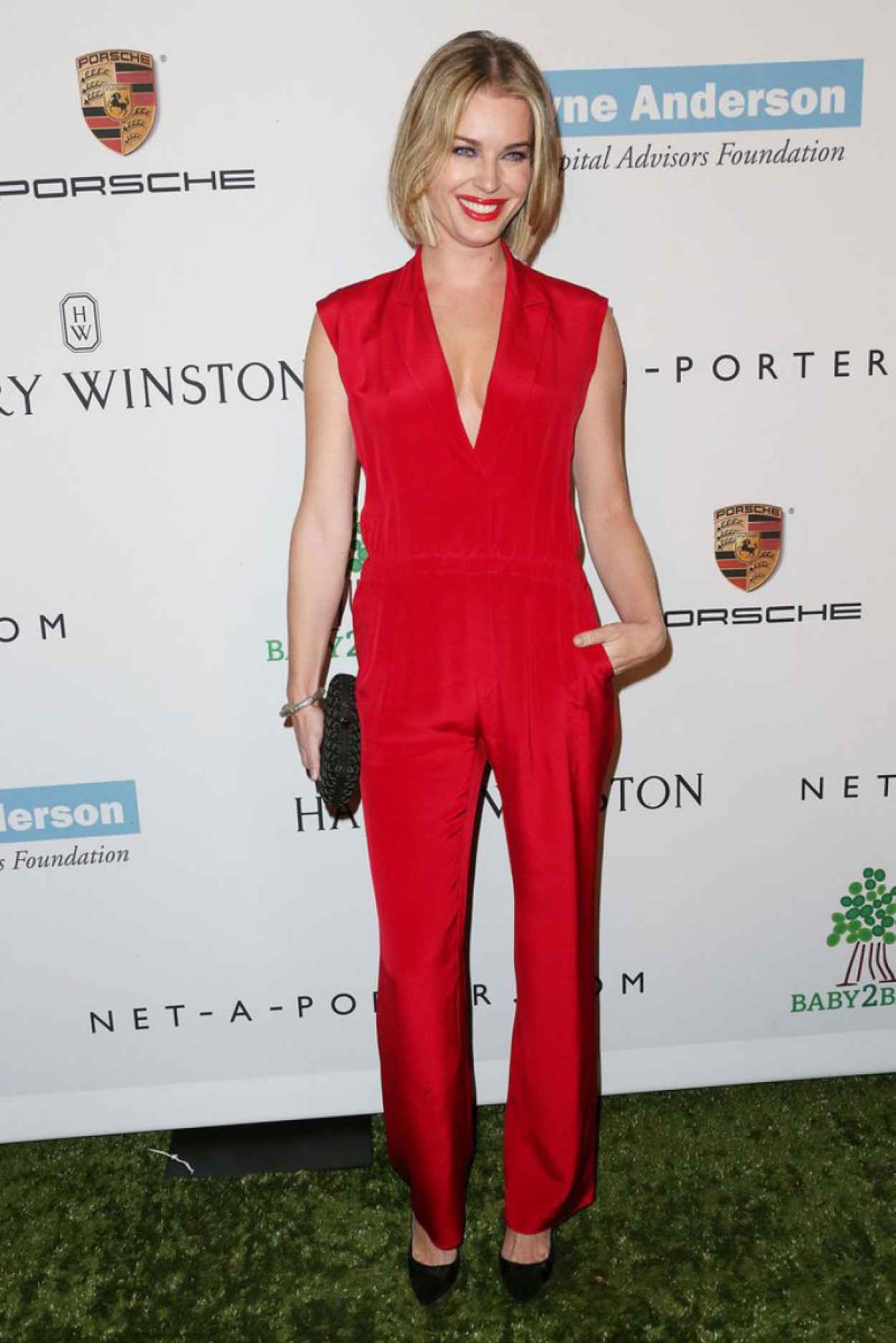 Rebecca Romijn on Red Carpet - 2nd Annual Baby2Baby Gala-1