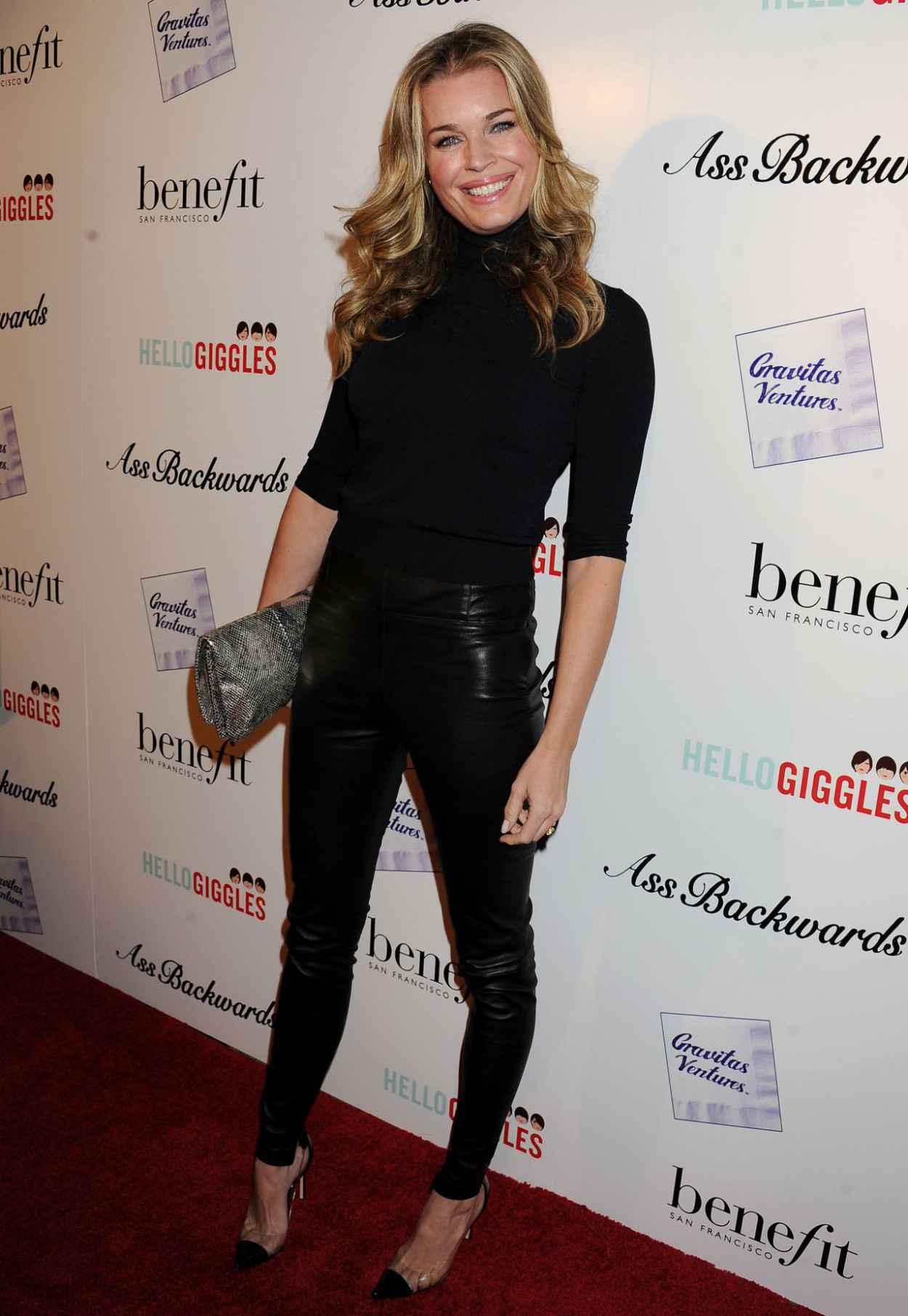 Rebecca Romijn on Red Carpet - ASS BACKWARDS Movie Premiere-1