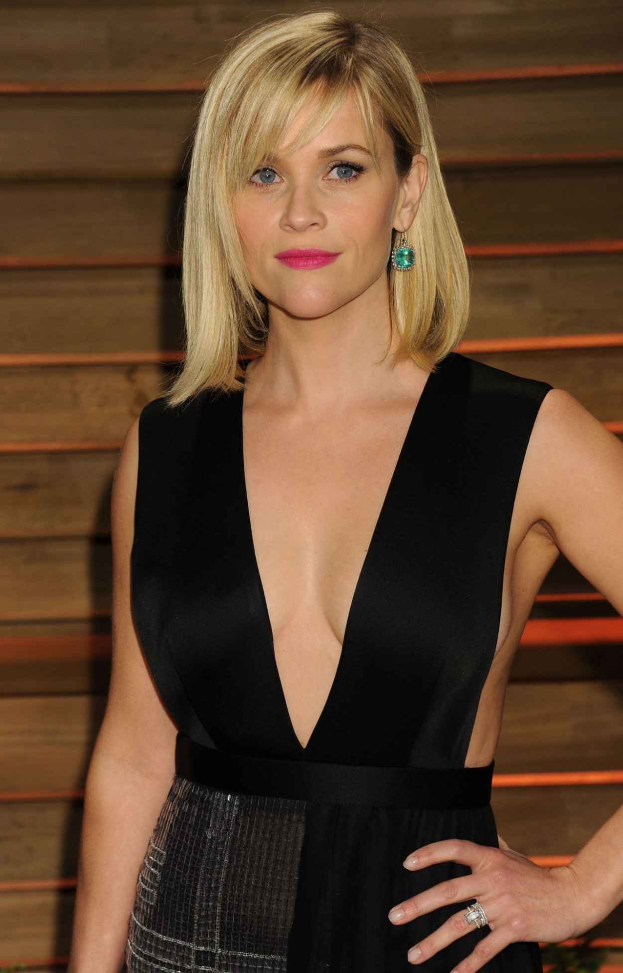 Reese Witherspoon - 2015 Vanity Fair Oscars Party-1
