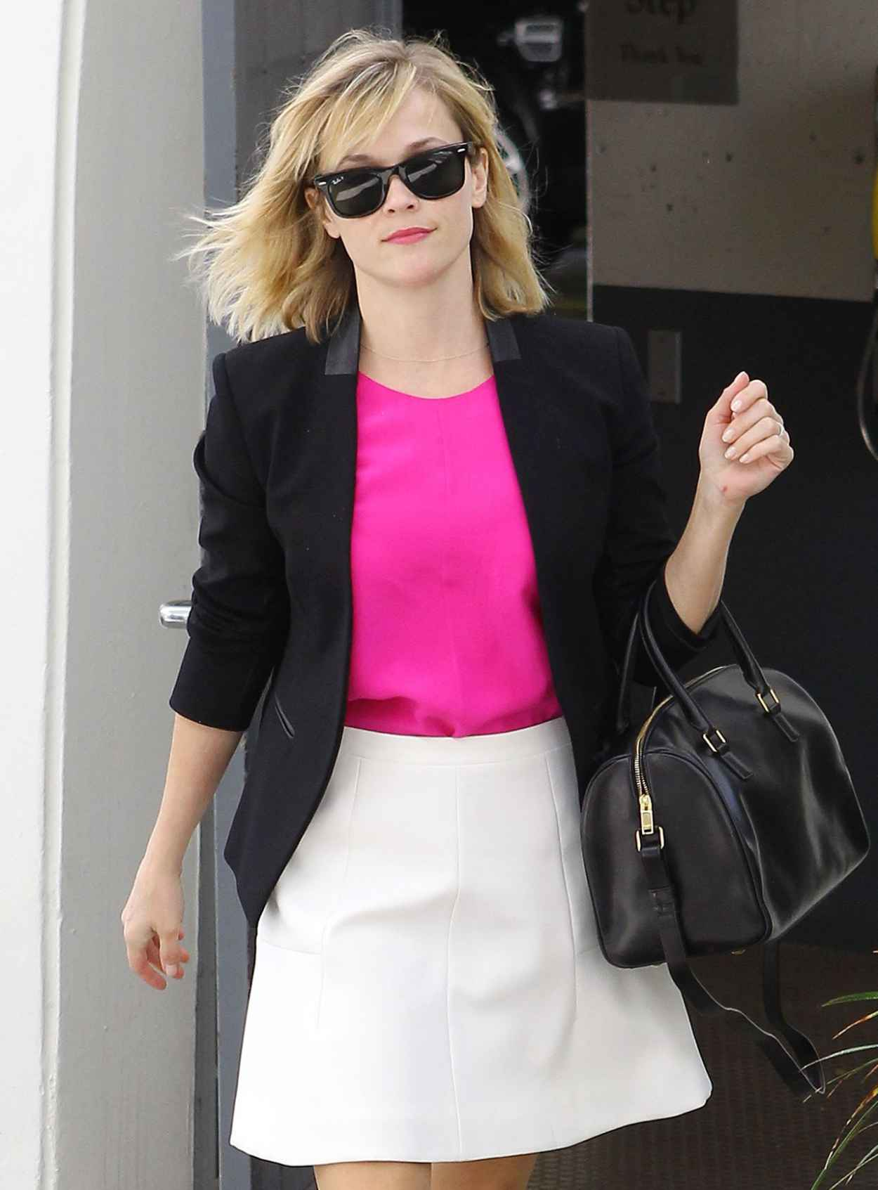 Reese Witherspoon Style - Leaves Her Office in Beverly Hills - March 2015-1