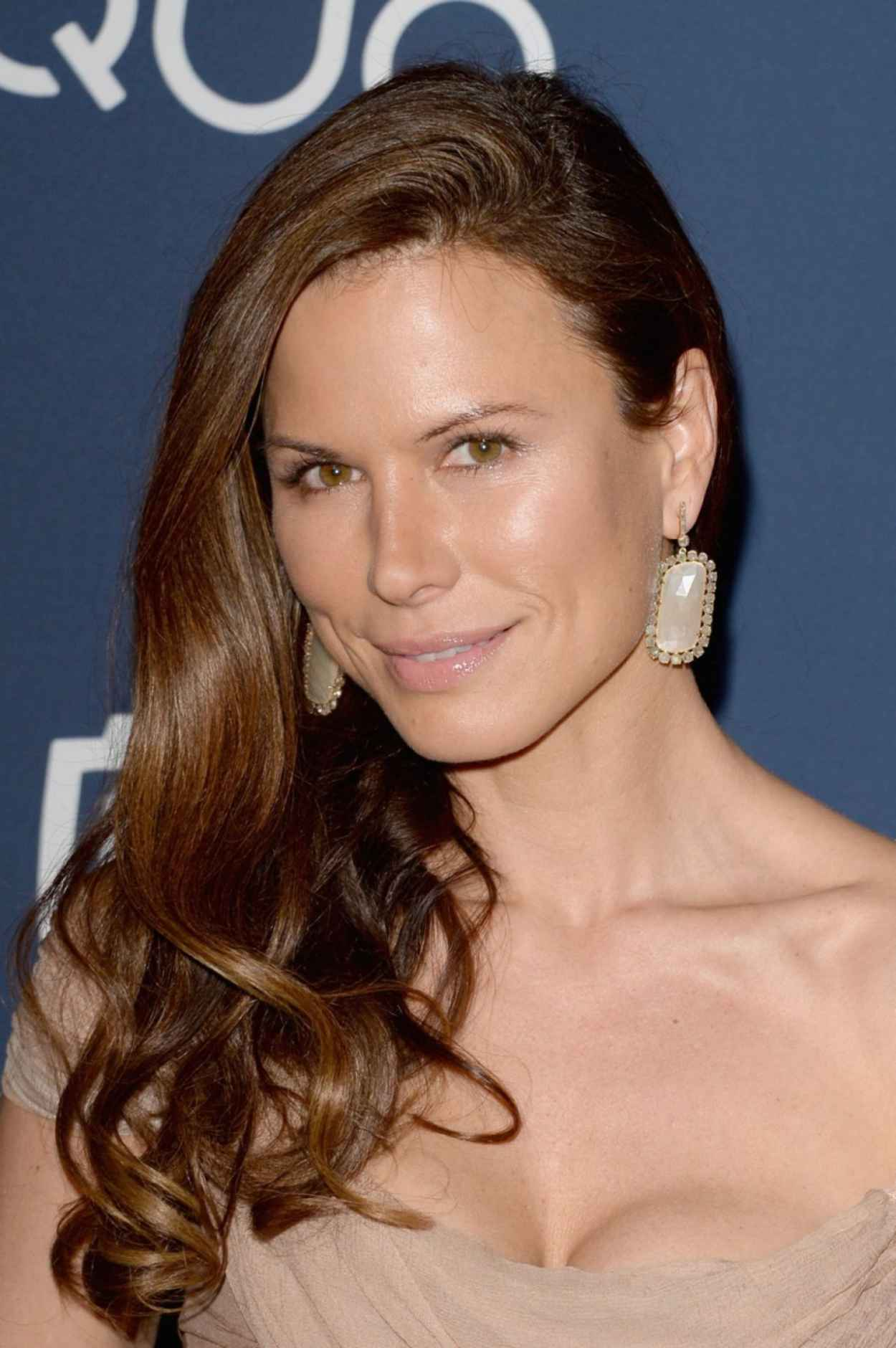 Rhona Mitra Attends InStyle & Warner Bros. 2015 Golden Globes After Party in Beverly Hills-1