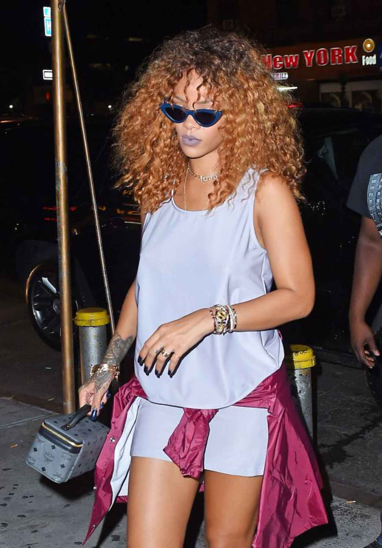 Rihanna - Out in New York City, August 2015-1