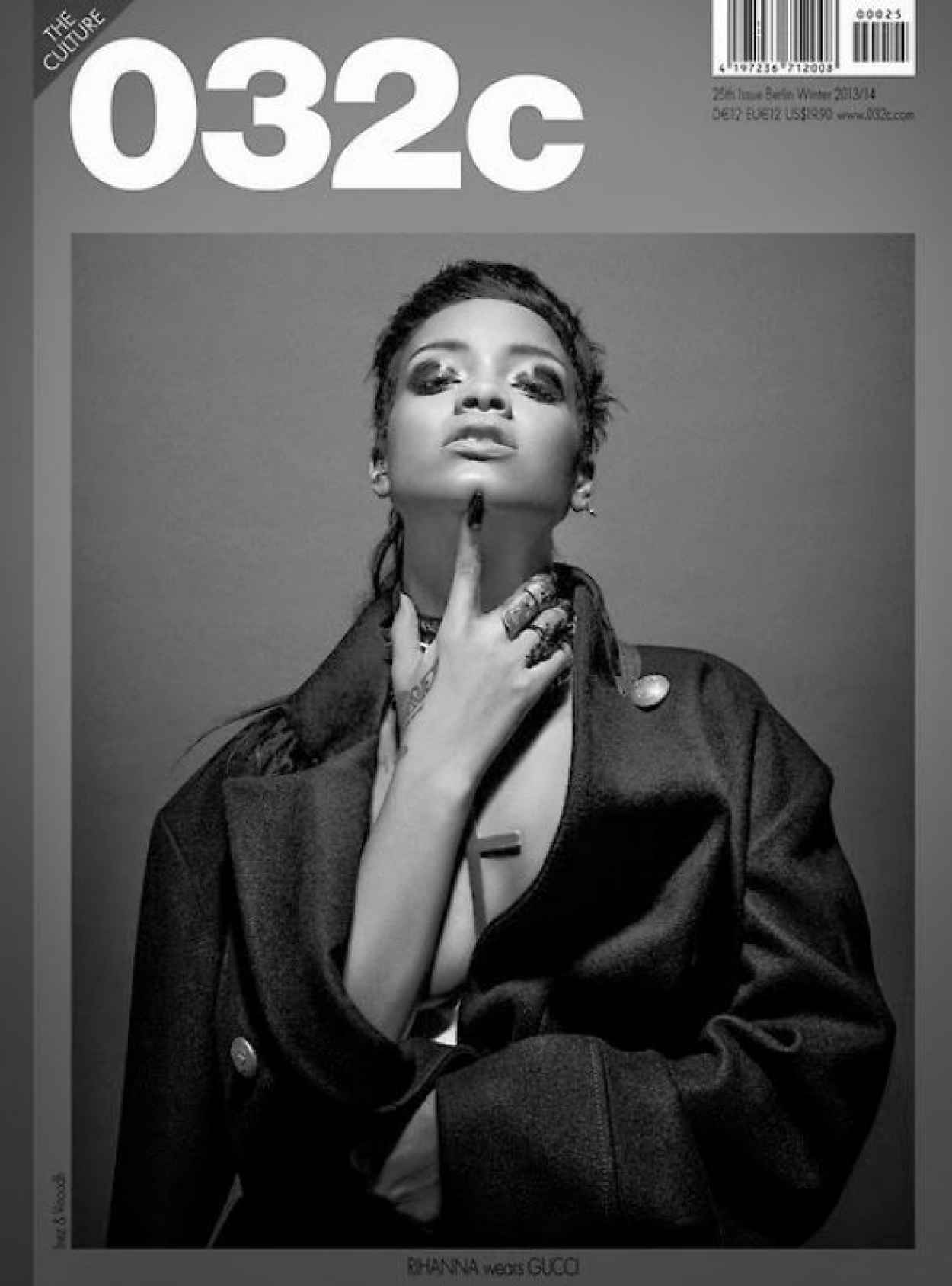 Rihanna Photoshoot for 032C Magazine Winter 2015/2014-2
