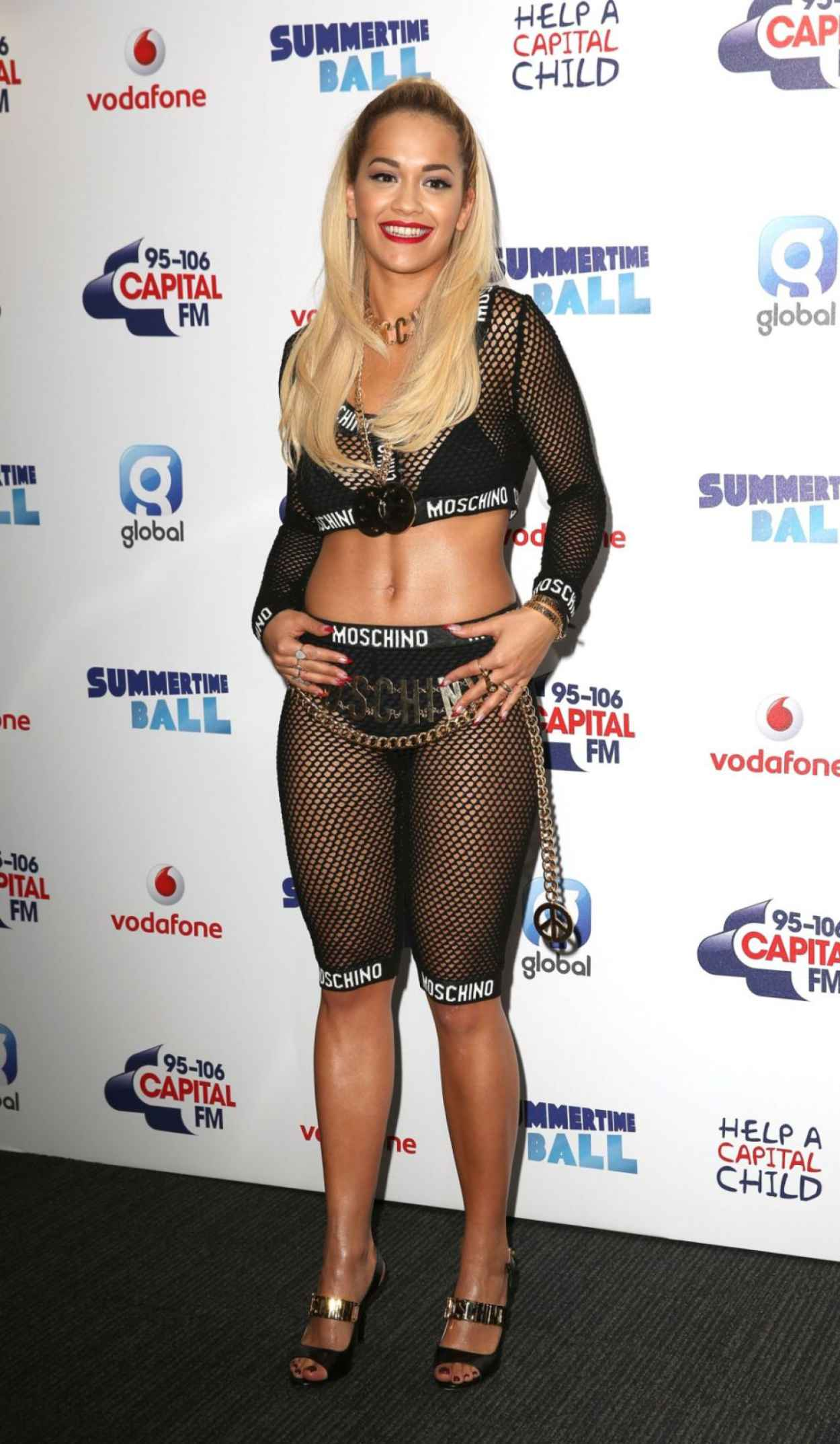 Rita Ora - 2015 Capital Summertime Ball in London-1