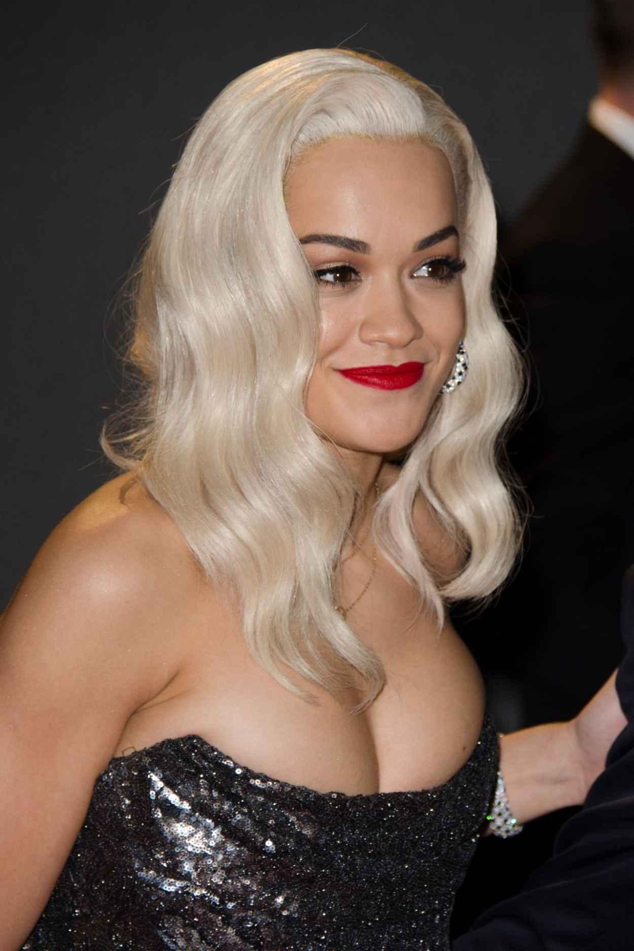Rita Ora at The British Fashion Awards - London December 2015-1