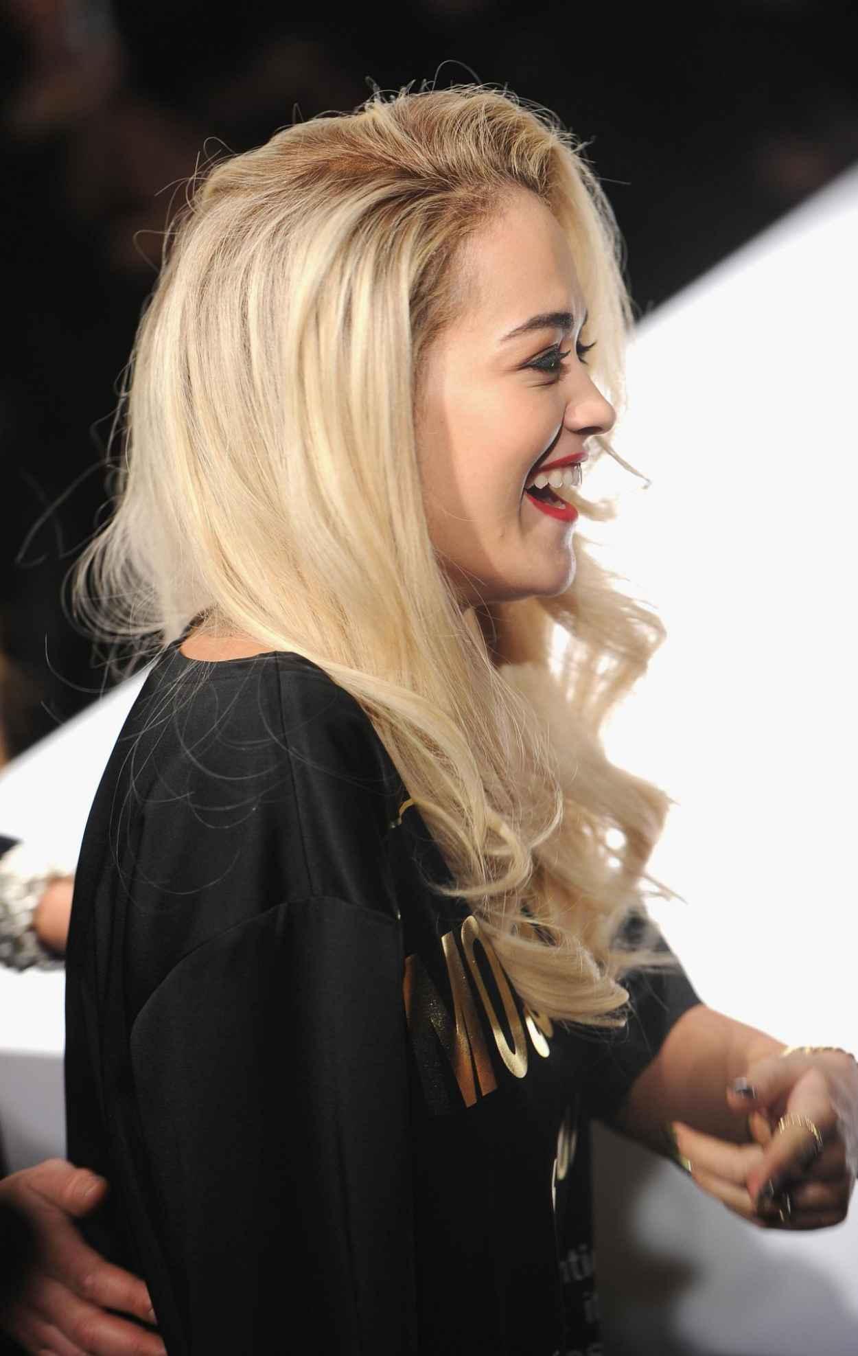 Rita Ora - Moschino Show - Milan Fashion Week, February 2015-2
