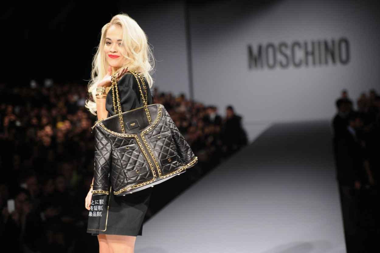 Rita Ora - Moschino Show - Milan Fashion Week, February 2015-4