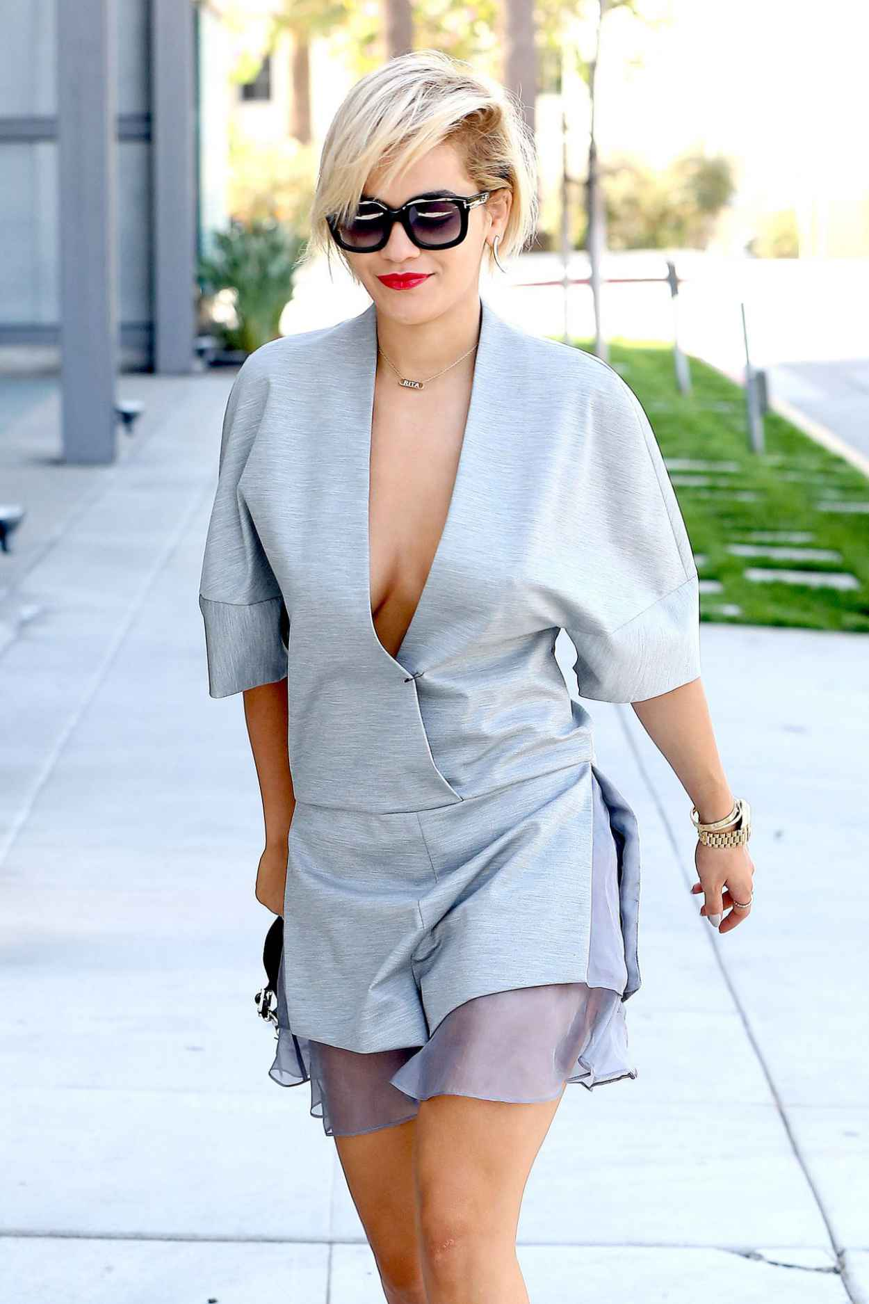 Rita Ora Out in Los Angeles - March 2015-1