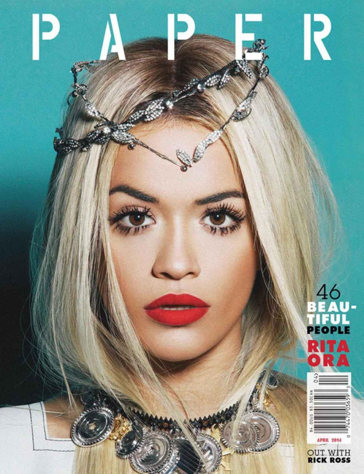 Rita Ora - Paper Magazine April 2015 Issue-1