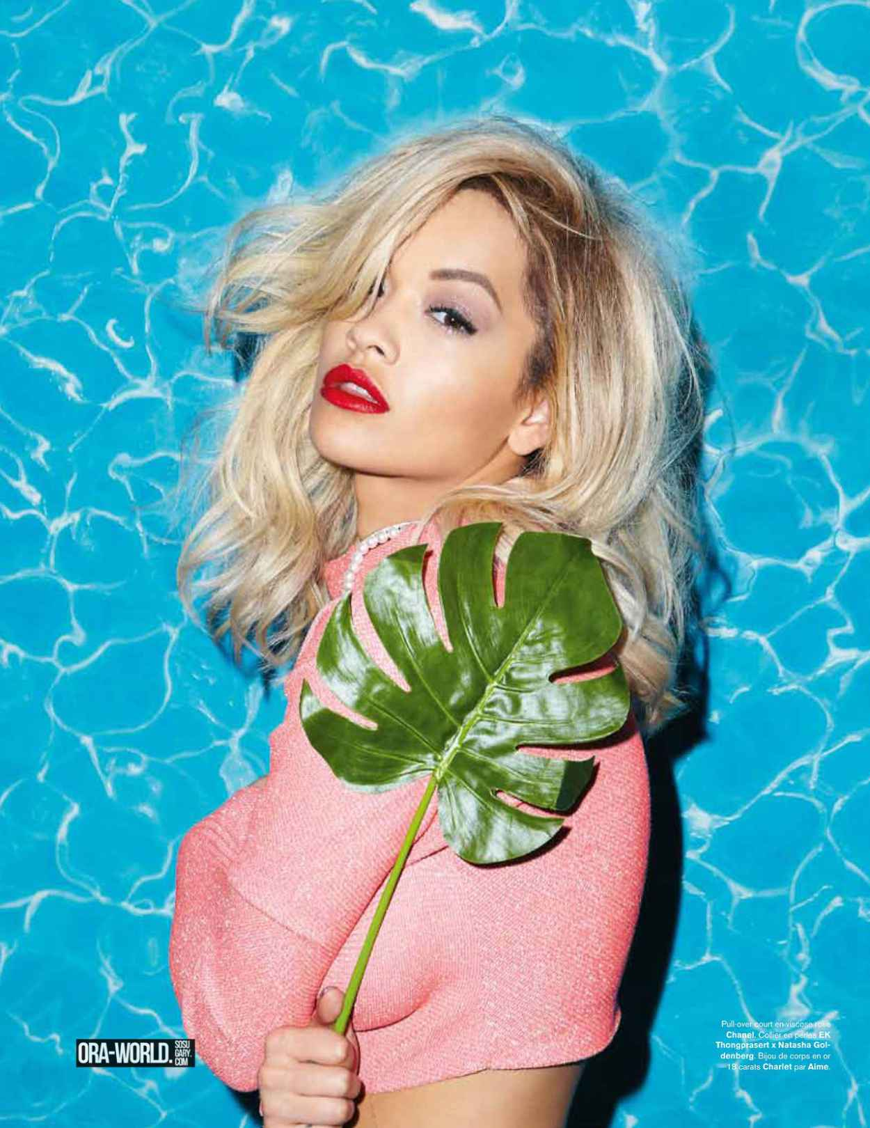 Rita Ora Photoshoot for Modzik Magazine-1