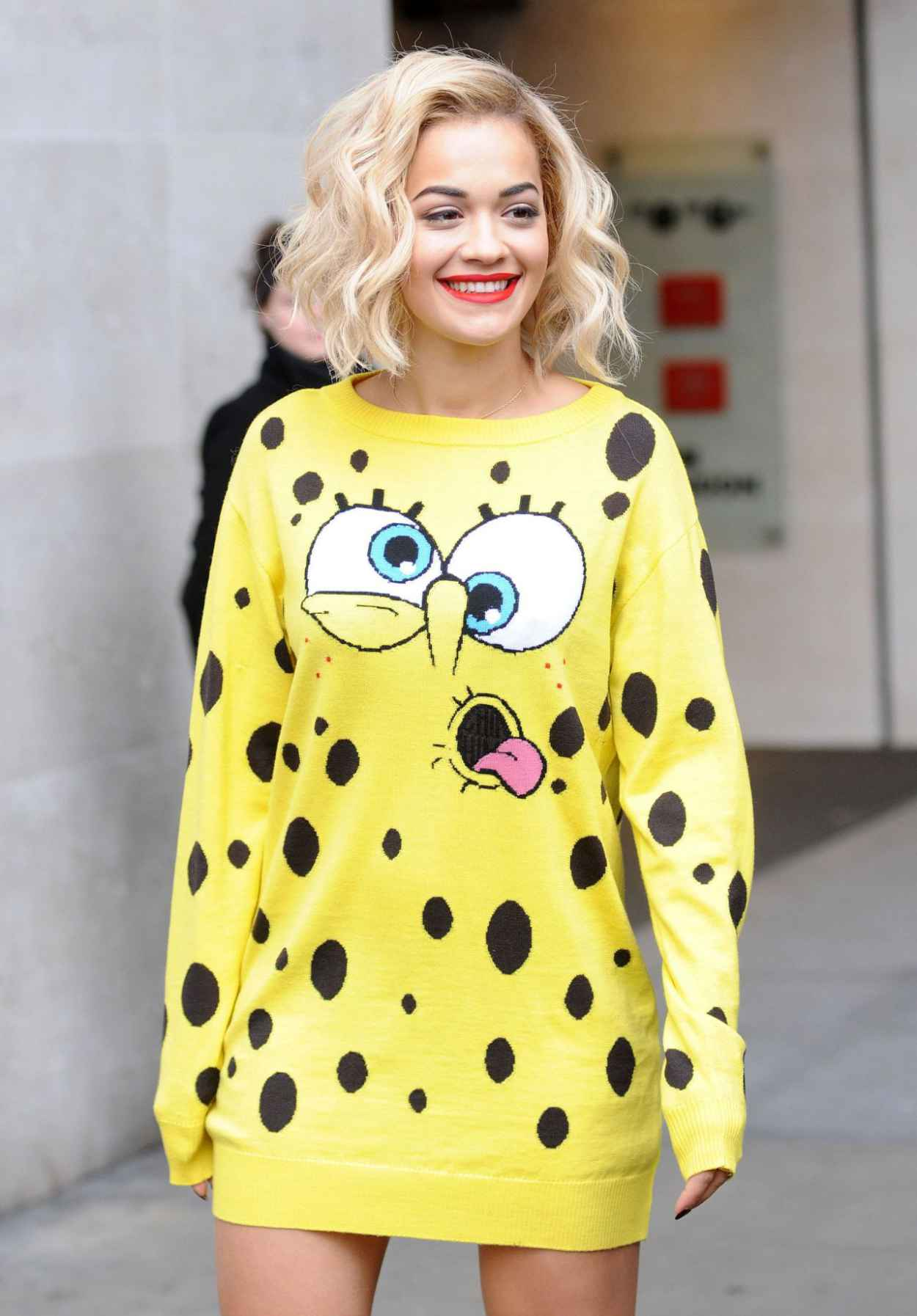 Rita Ora - Promoting the Release of Her New Single - London, March 2015-1