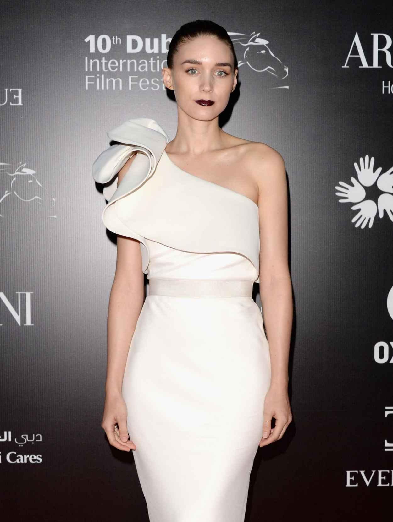 Rooney Mara at Oxfam Charity Gala 10th Dubai Film Festival - Dec. 2015-1