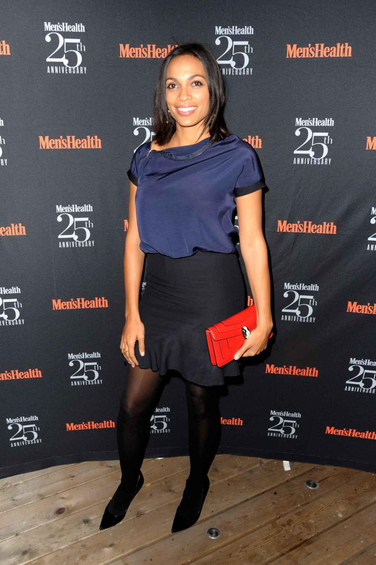 Rosario Dawson at Mens Health 25th Anniversary Celebration-2