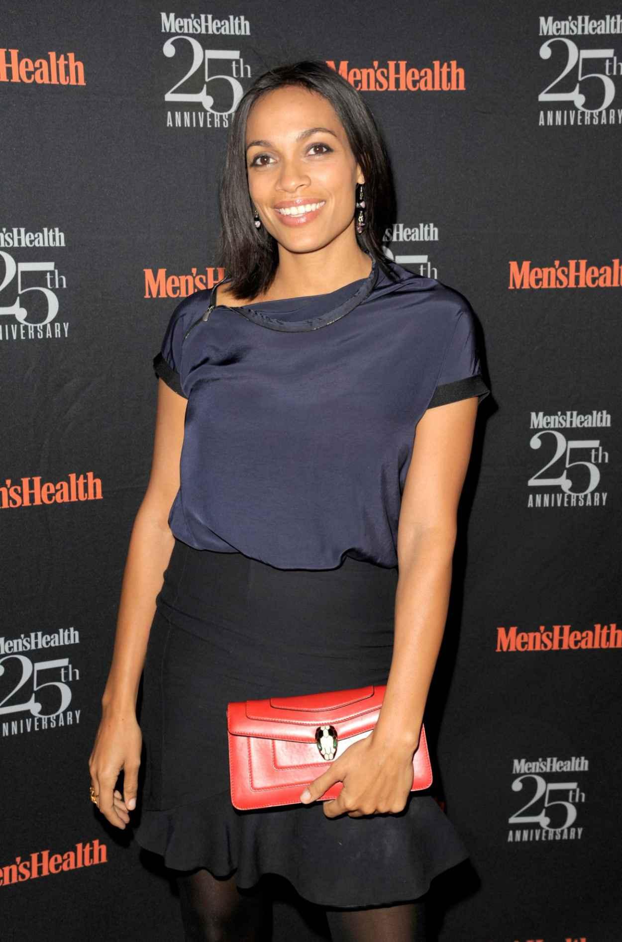 Rosario Dawson at Mens Health 25th Anniversary Celebration-3