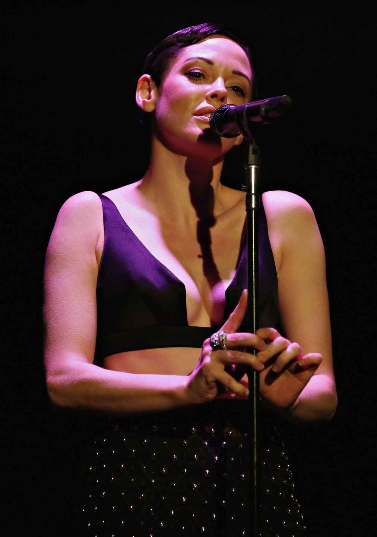 Rose McGowan - Casa Reale Fine Jewelry Launch in New York City, June 2015-2