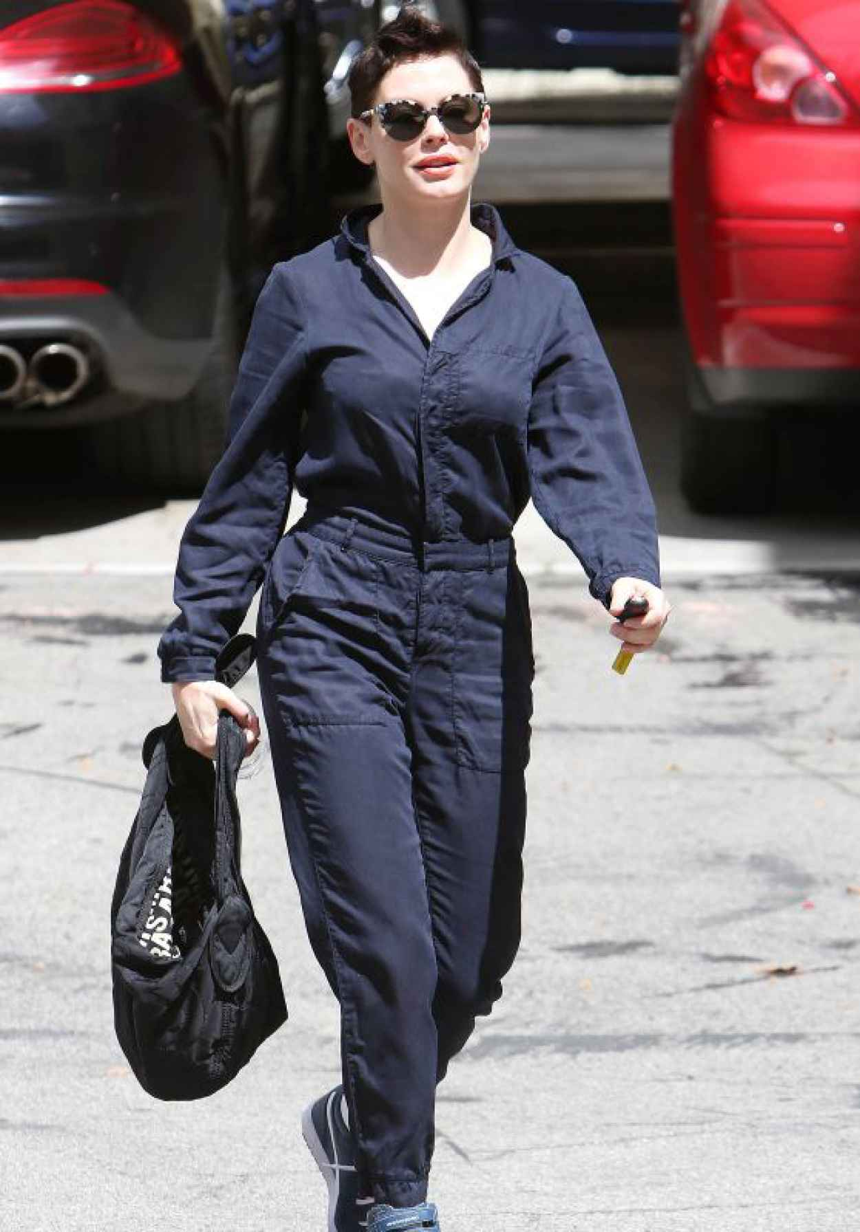 Rose McGowan - Out in Los Angeles, April 2015-1