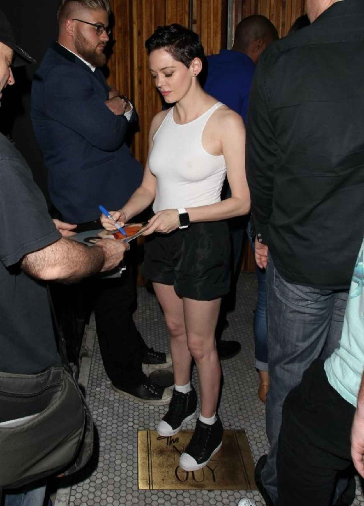 Rose McGowan - Out in West Hollywood, July 2015-2