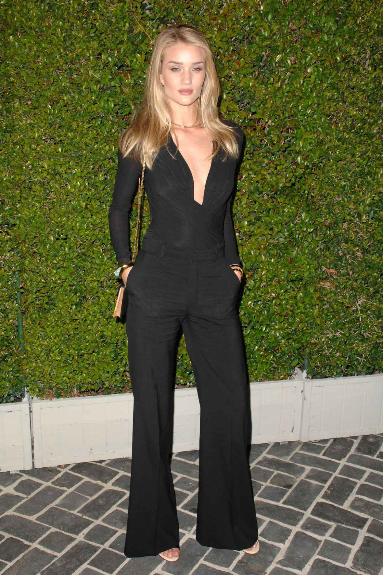 Rosie Huntington-Whiteley at Chloe Los Angeles Fashion Show & Dinner-2