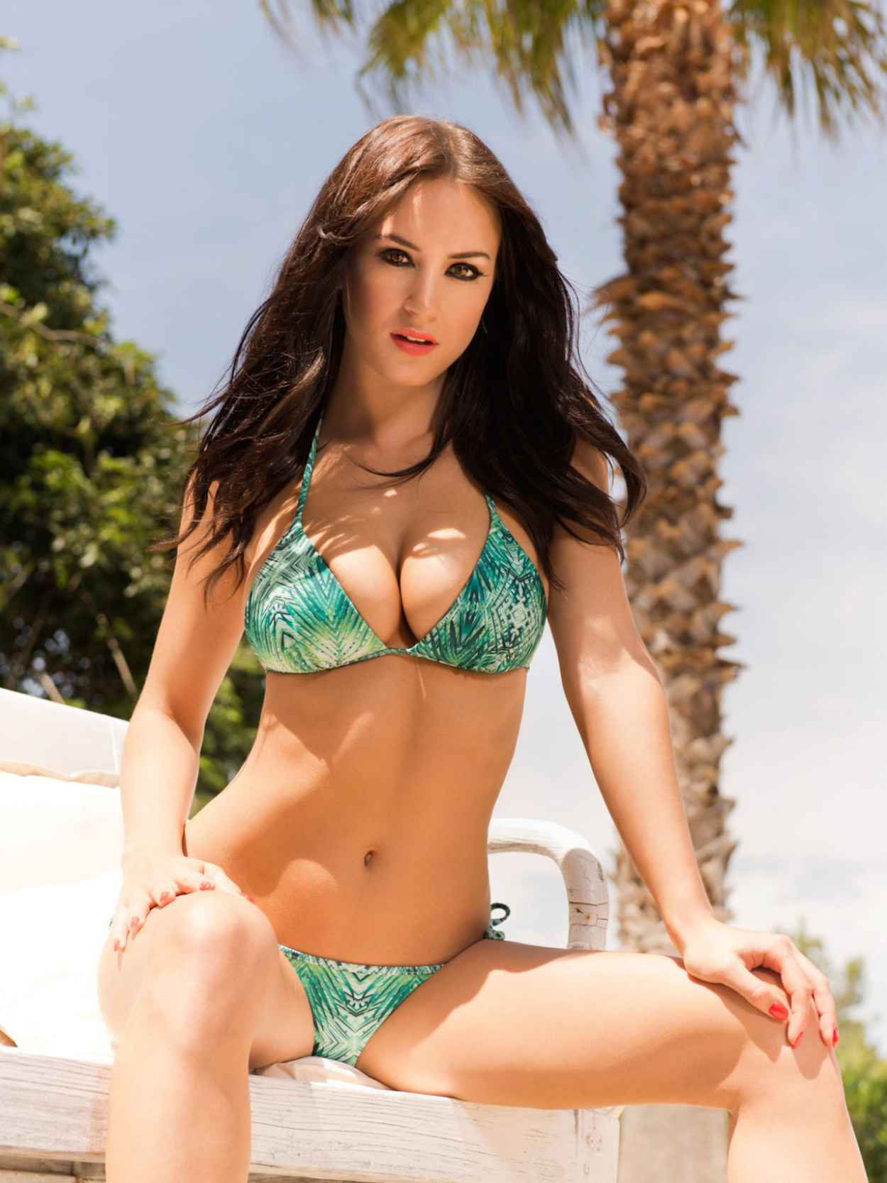 Rosie Jones in a Swimsuits and Bikinis - 2015 Calendar Photoshoot-1