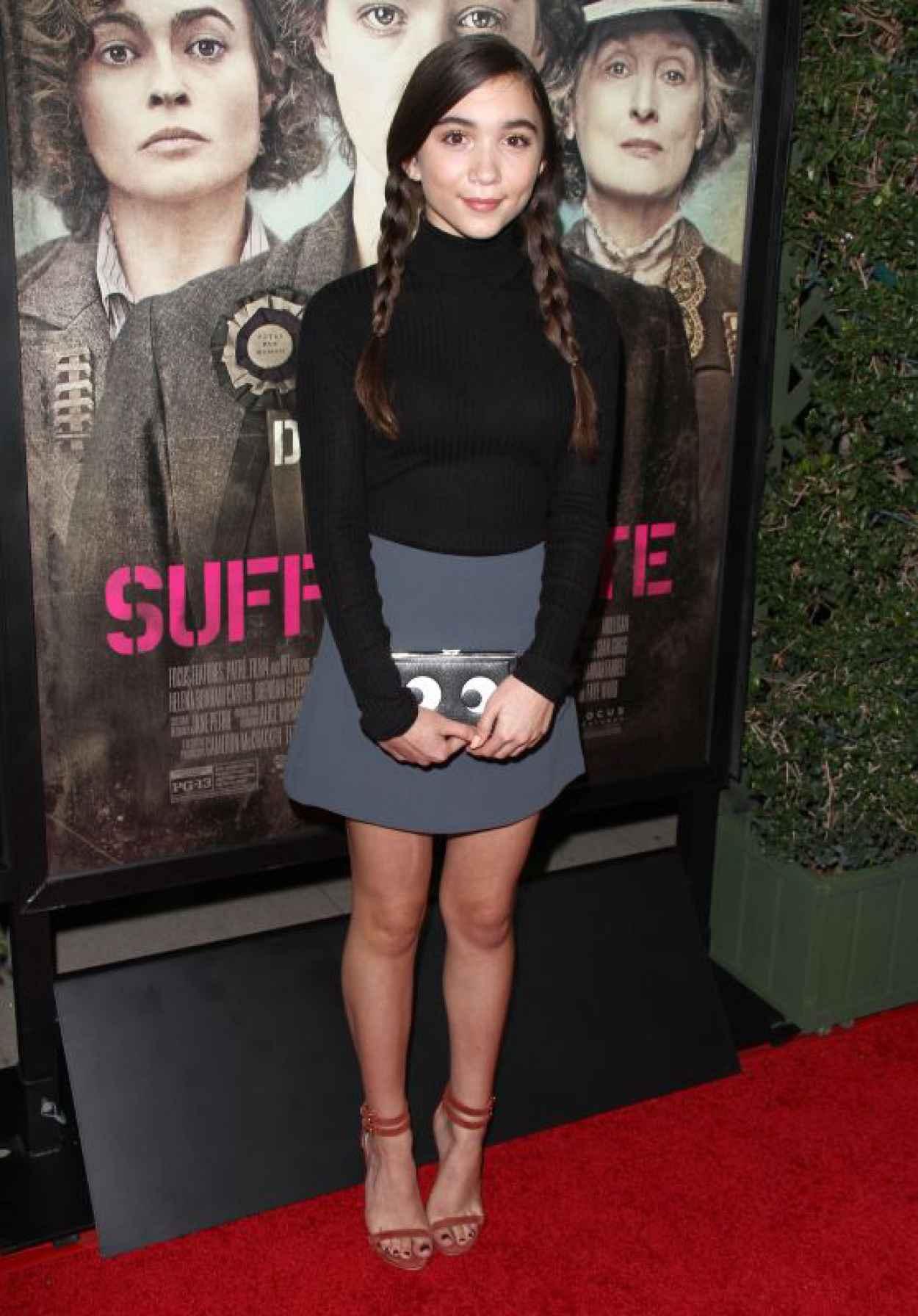 Rowan Blanchard - Focus Features Suffragette Premiere in Los Angeles-1