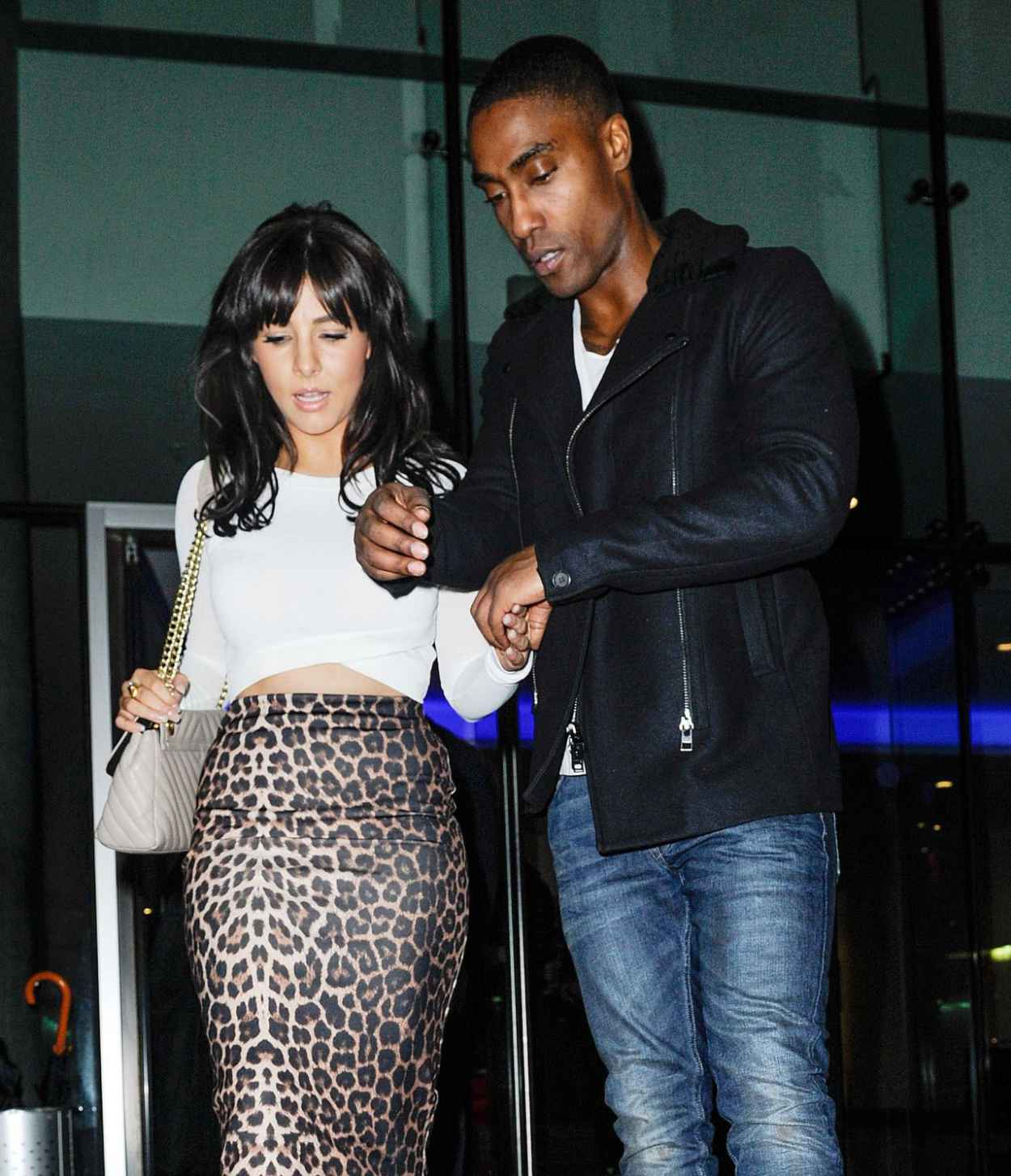 Roxanne Pallett Night Out Style - at Neighbourhood Club in Manchester, Jan. 2015-1
