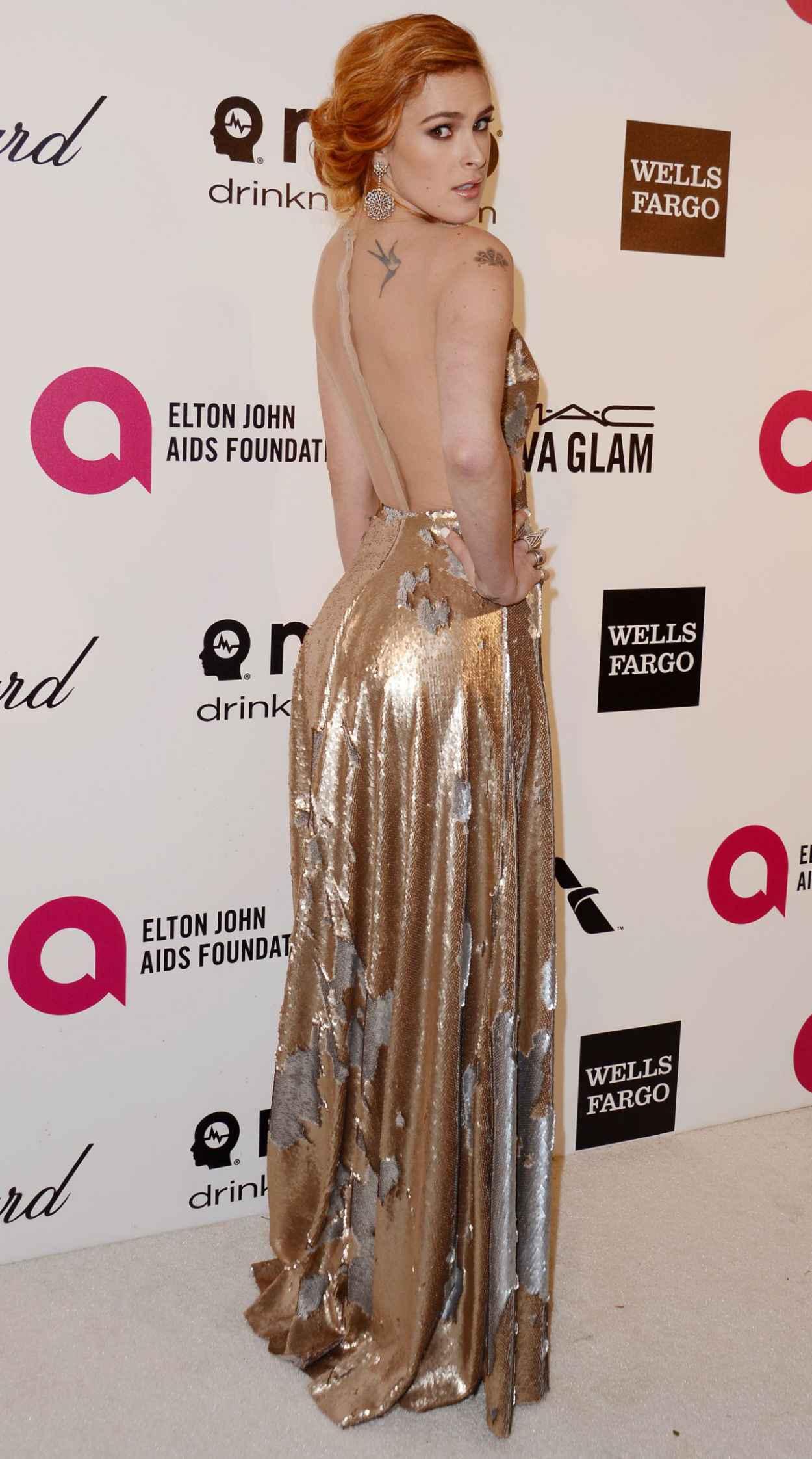 Rumer Willis at 2015 Elton John Oscar Party-4