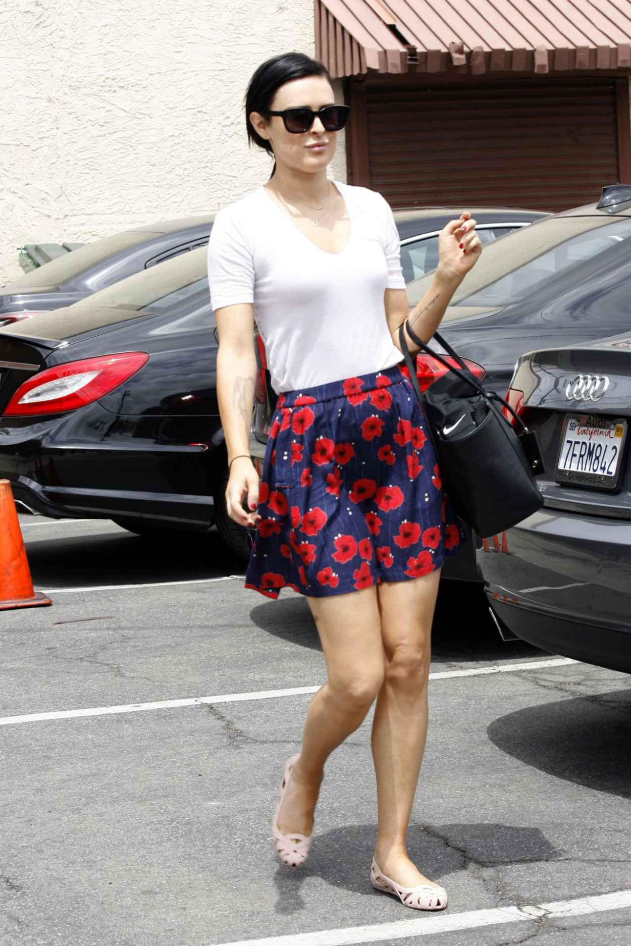 Rumer Willis - Leaving Dancing With The Stars Rehearsals in Hollywood, May 2015-2