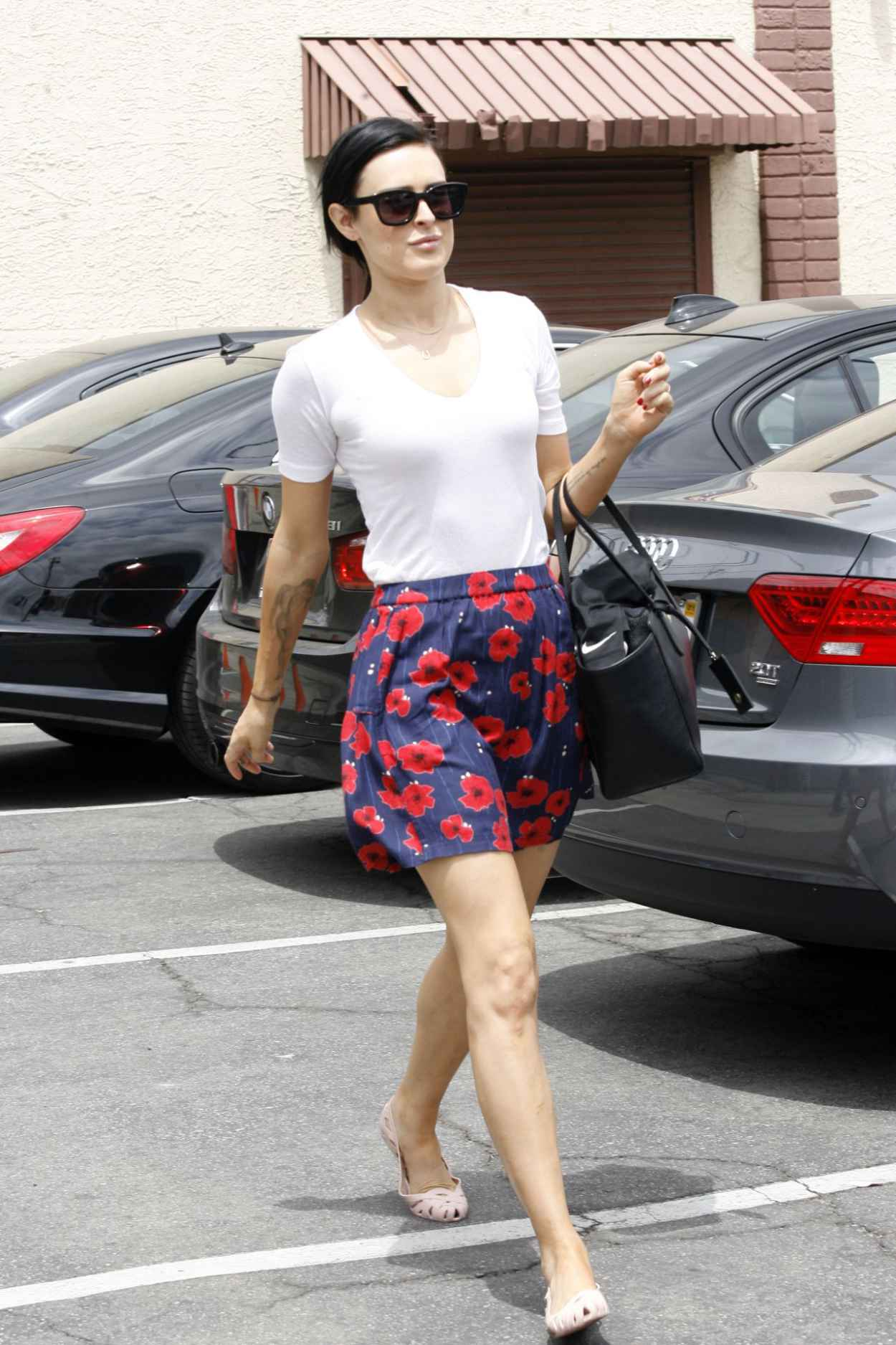 Rumer Willis - Leaving Dancing With The Stars Rehearsals in Hollywood, May 2015-3