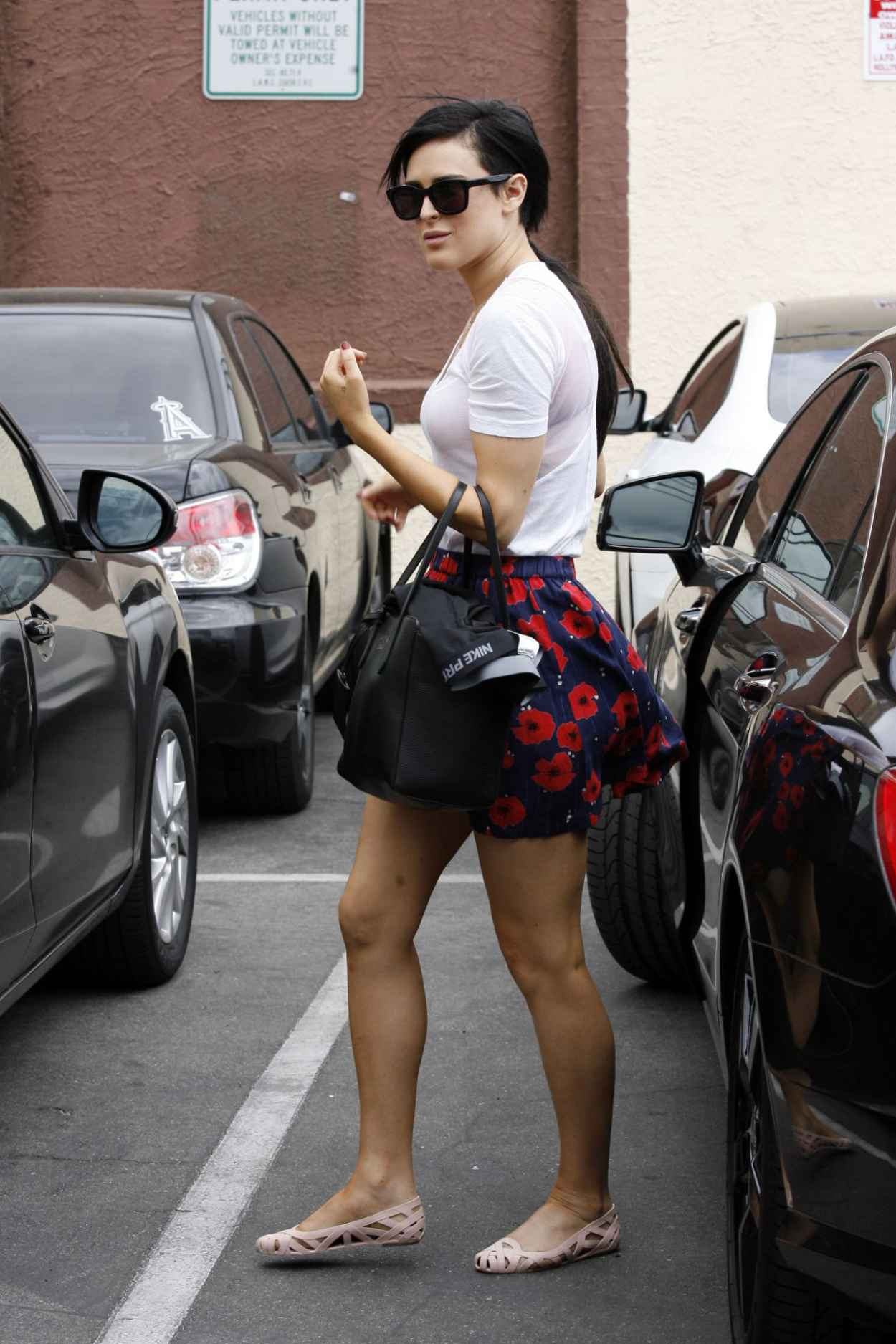 Rumer Willis - Leaving Dancing With The Stars Rehearsals in Hollywood, May 2015-4