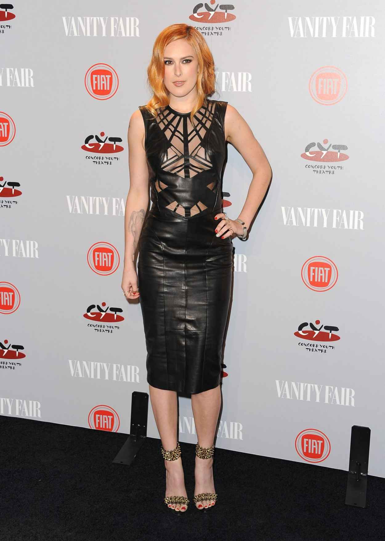 Rumer Willis - Vanity Fair & FIAT Young Hollywood Event in Los Angeles-3