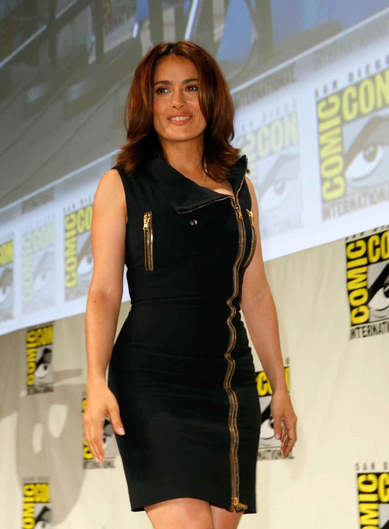 Salma Hayek - Everly Comic-Con 2015 Panel-1